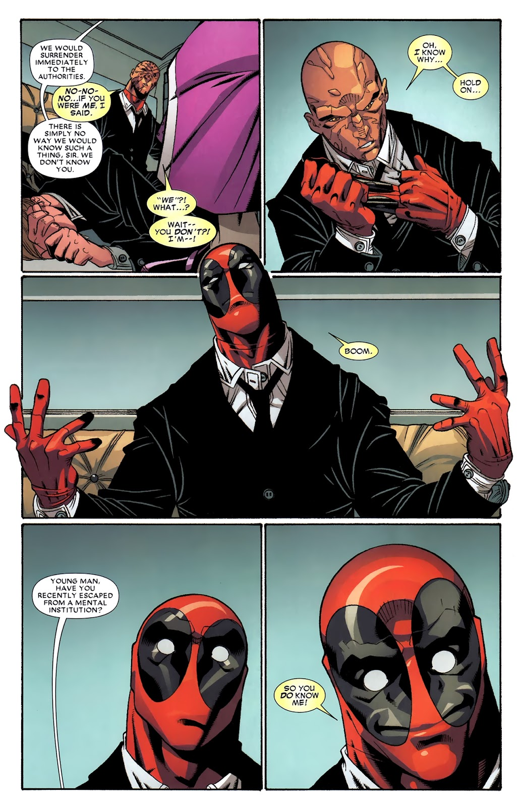 Read online Deadpool (2008) comic -  Issue #43 - 17