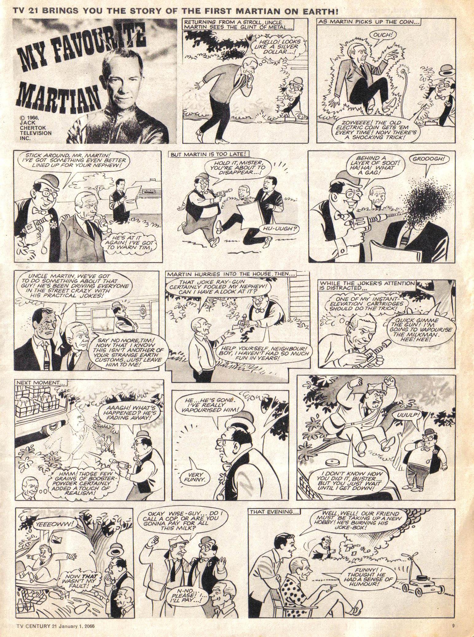 Read online TV Century 21 (TV 21) comic -  Issue #50 - 9