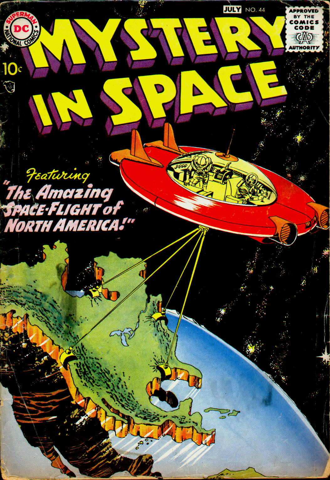 Mystery in Space (1951) issue 44 - Page 1