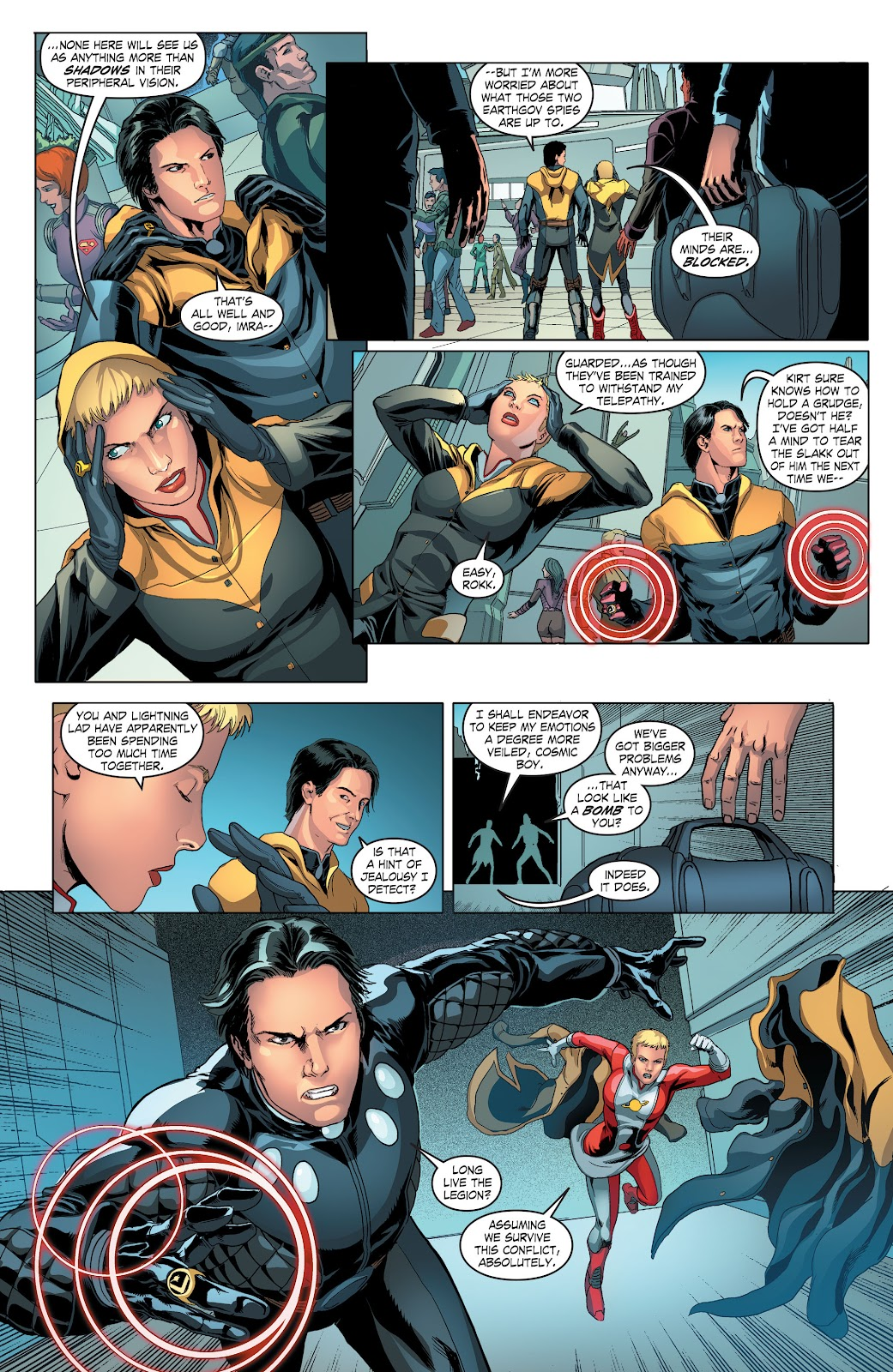Read online Smallville Season 11 [II] comic -  Issue # TPB 4 - 45