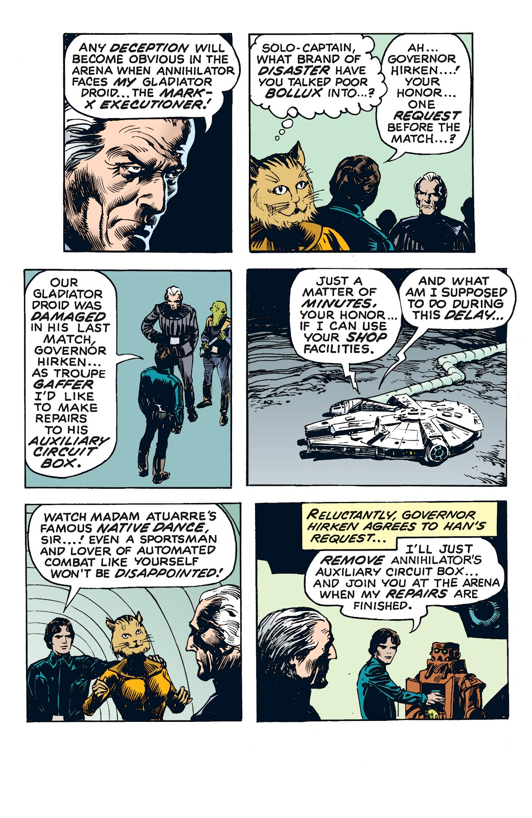 Read online Star Wars Legends: The Newspaper Strips - Epic Collection comic -  Issue # TPB (Part 4) - 53