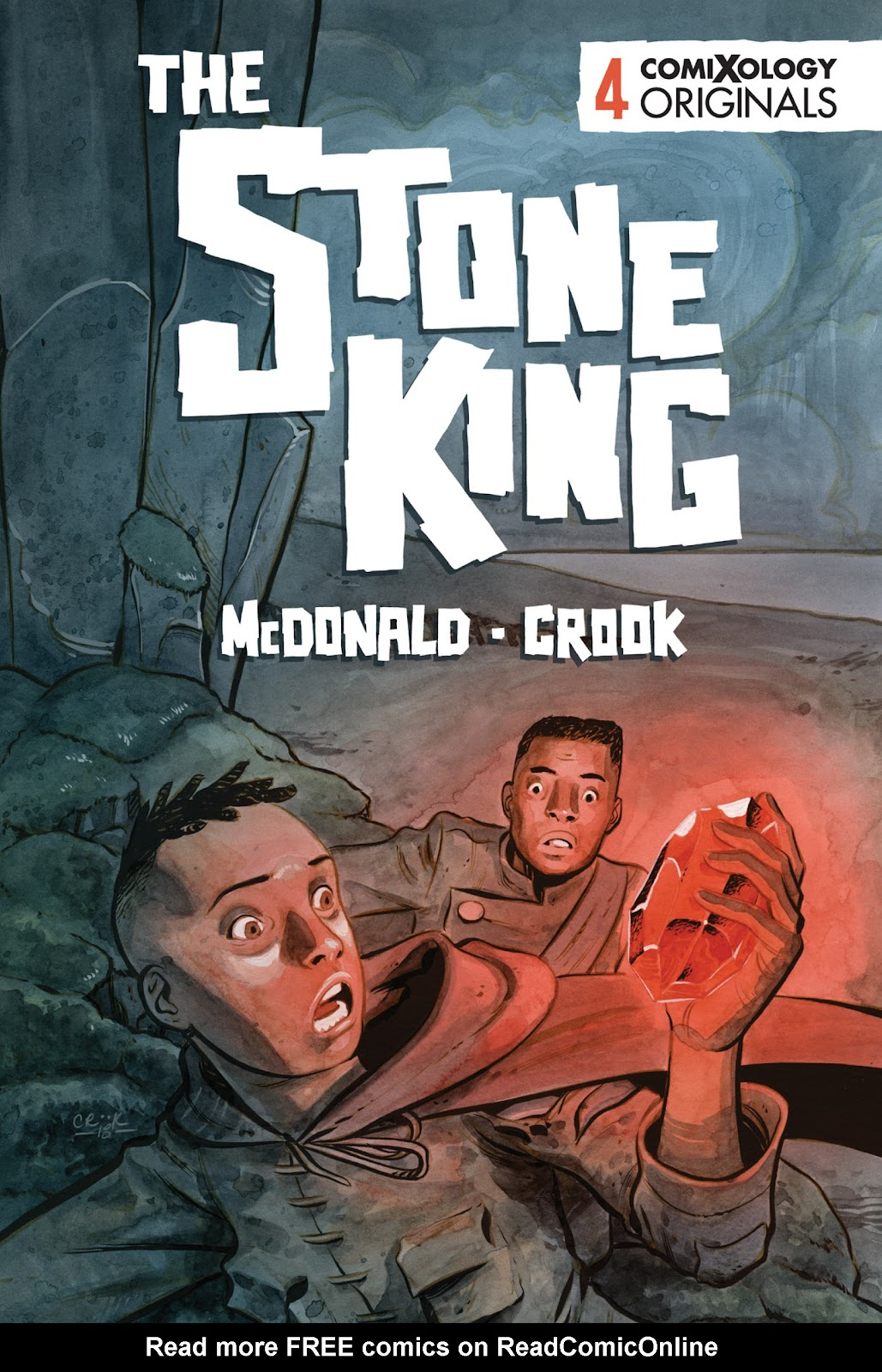 The Stone King issue 4 - Page 1