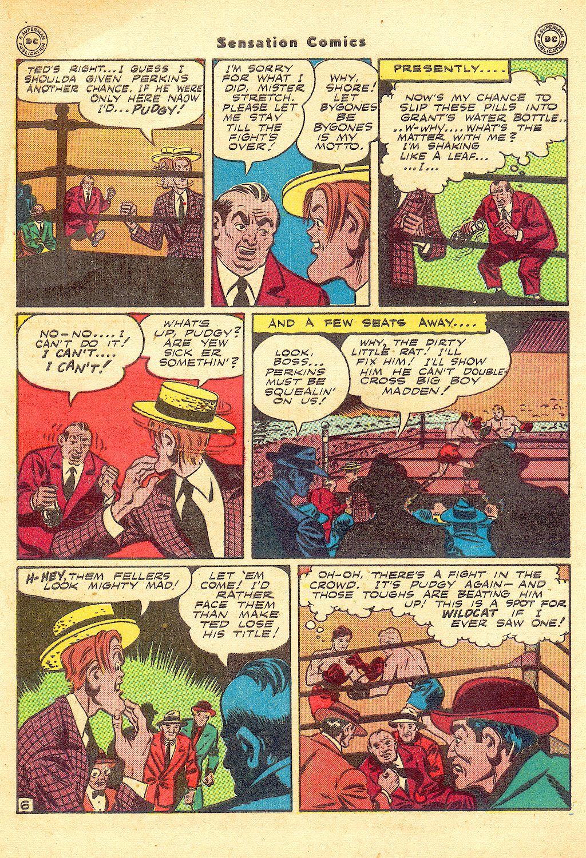 Read online Sensation (Mystery) Comics comic -  Issue #57 - 48