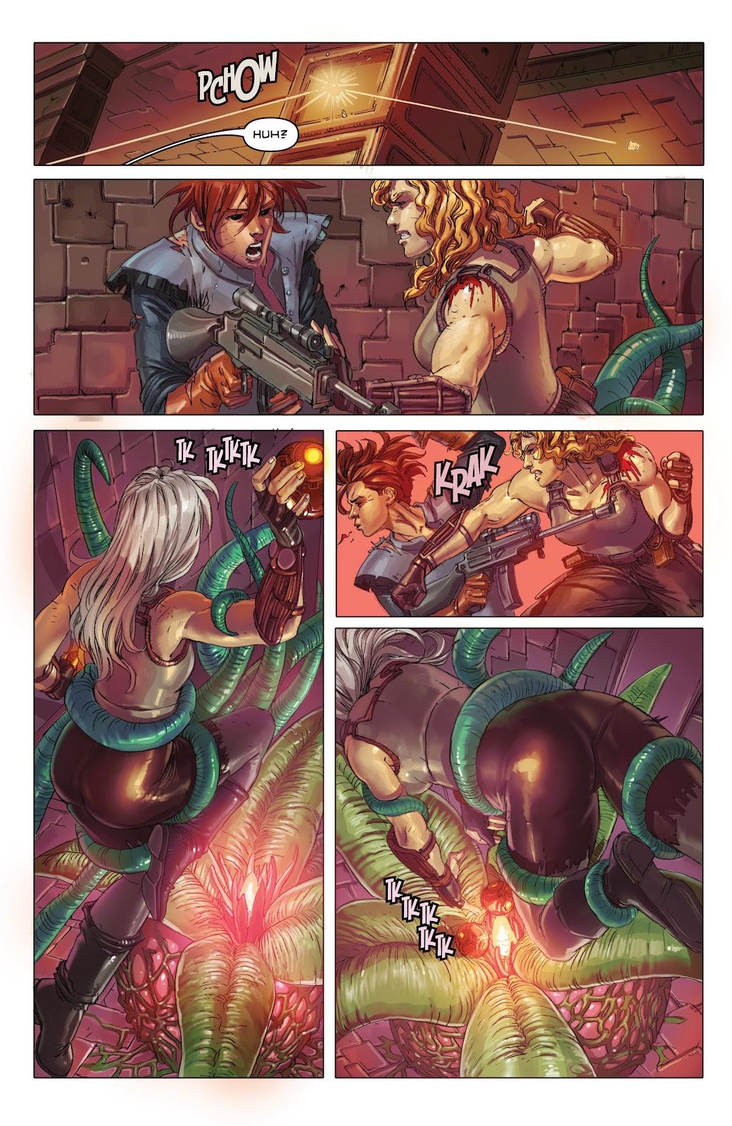 Read online Taarna comic -  Issue #4 - 18