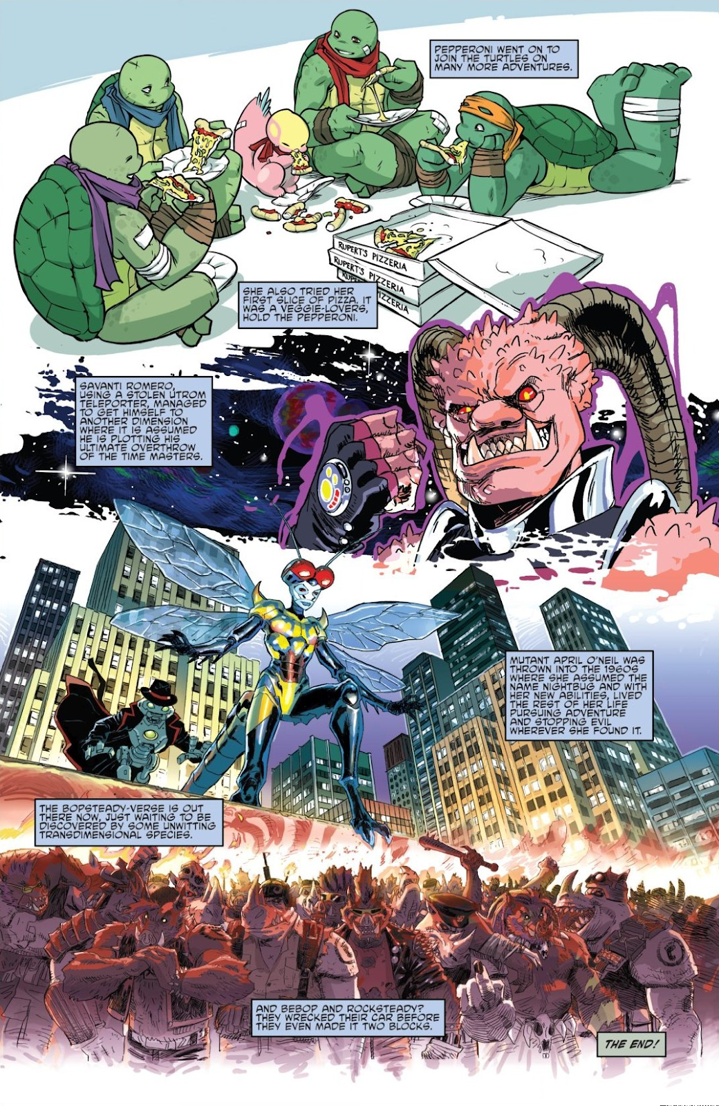 Read online Teenage Mutant Ninja Turtles: The IDW Collection comic -  Issue # TPB 8 (Part 2) - 13
