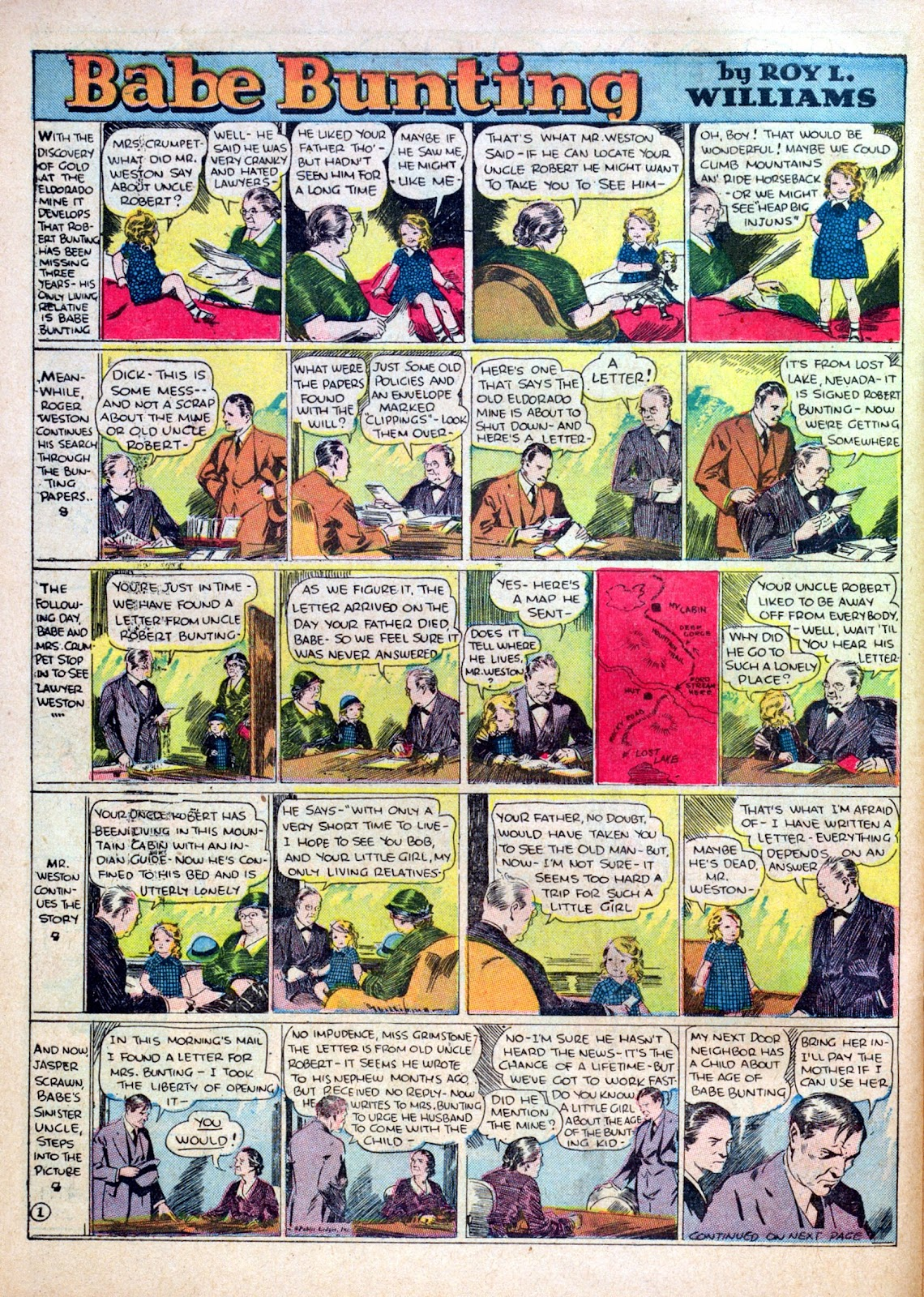 Read online Famous Funnies comic -  Issue #30 - 56
