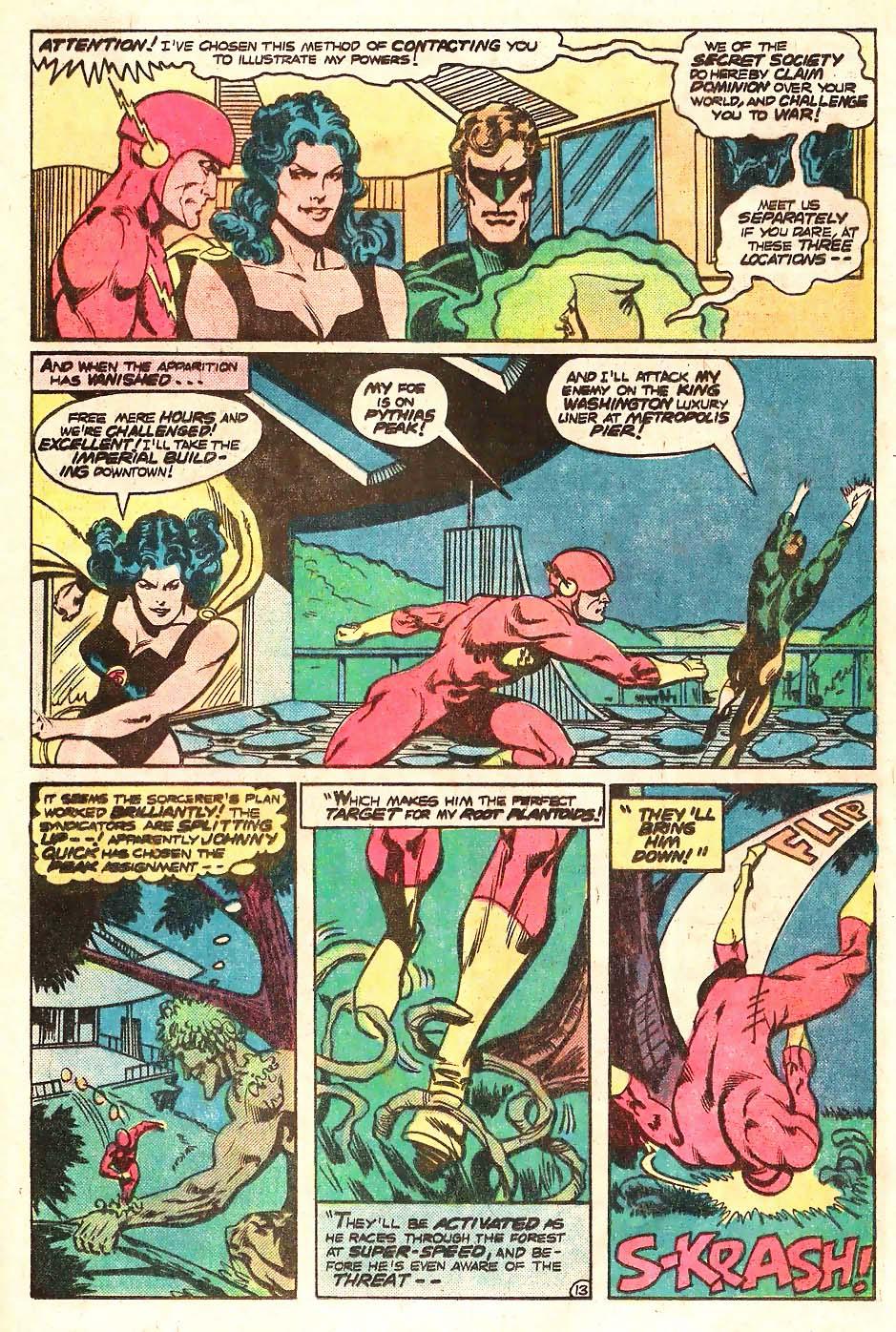 Read online Secret Society of Super-Villains comic -  Issue #13 - 14