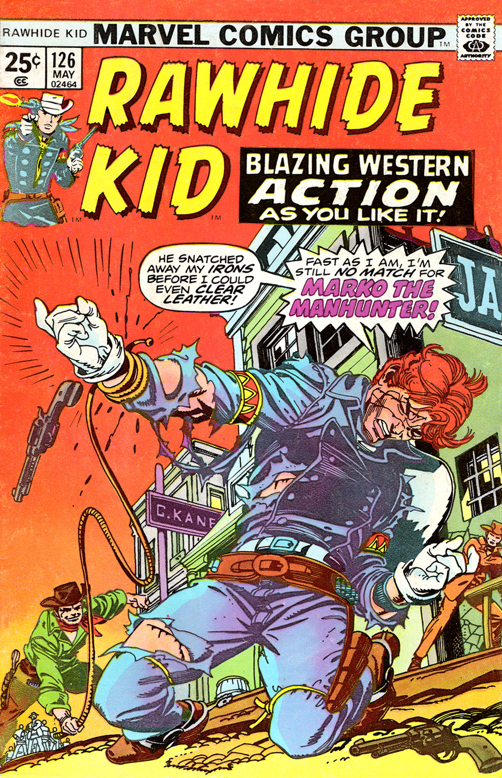 The Rawhide Kid (1955) issue 126 - Page 1