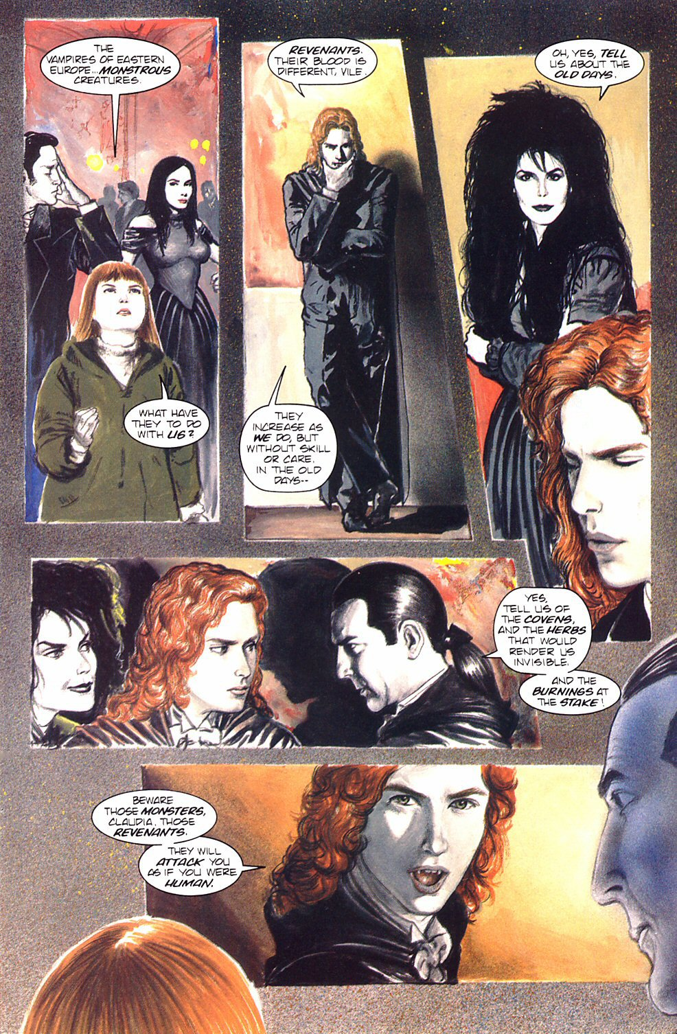 Read online Anne Rice's Interview with the Vampire comic -  Issue #8 - 32