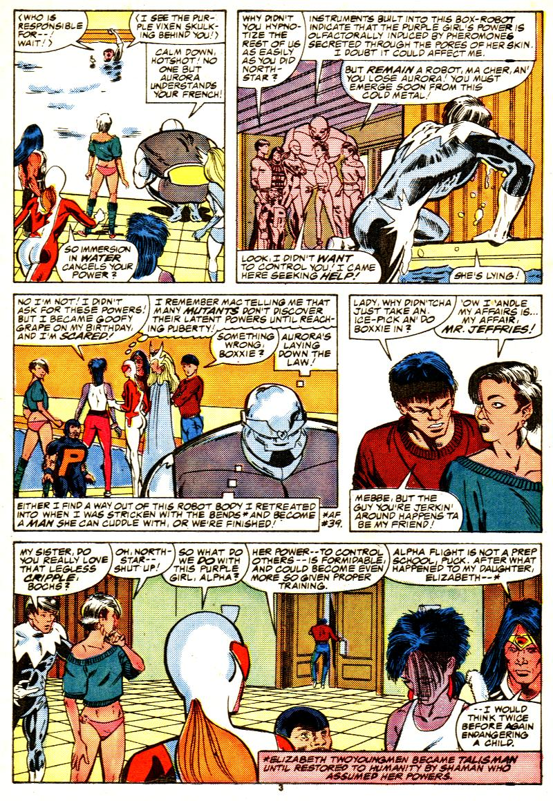 Read online Alpha Flight (1983) comic -  Issue #42 - 4