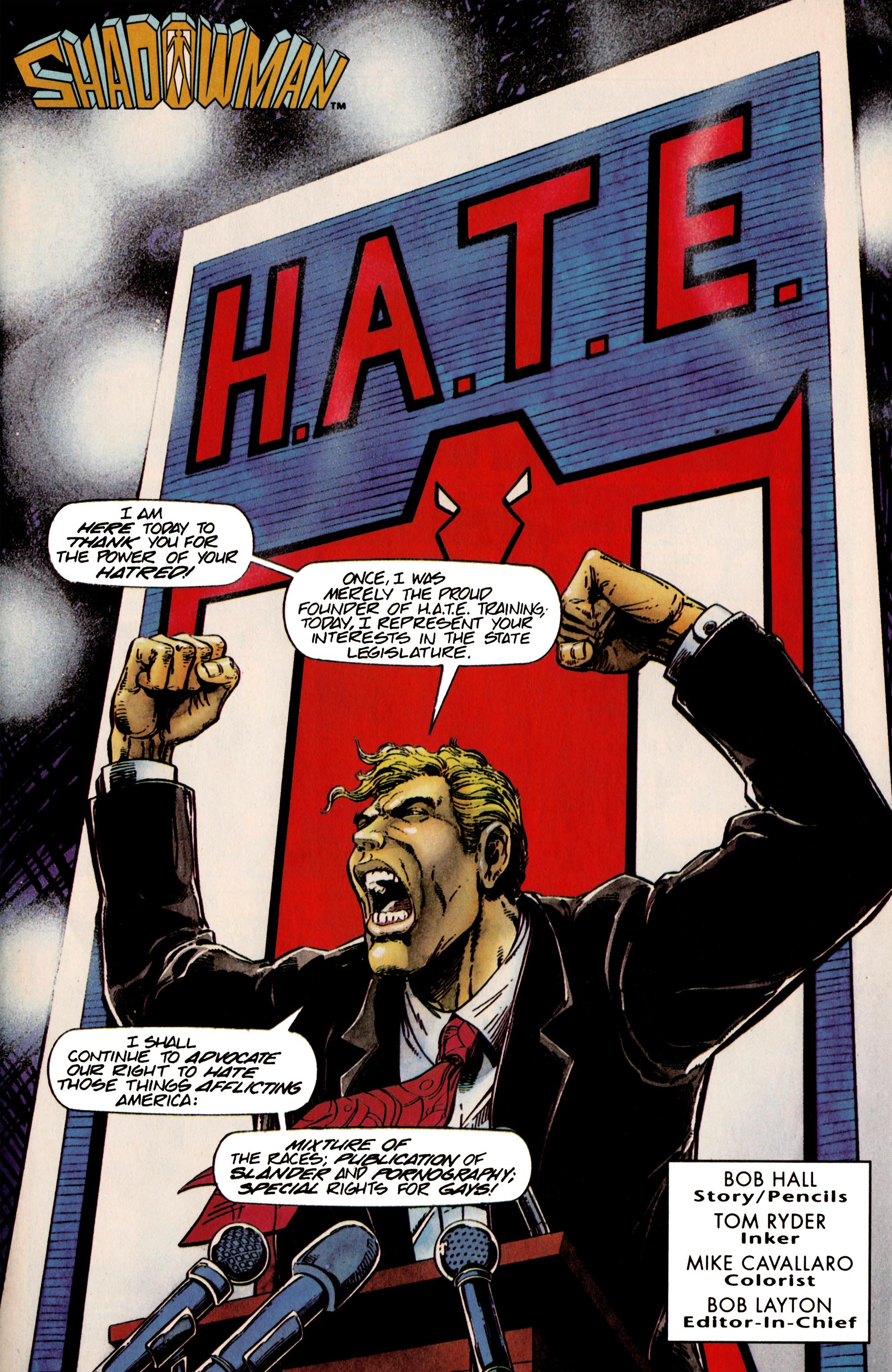 Read online Shadowman (1992) comic -  Issue #24 - 2