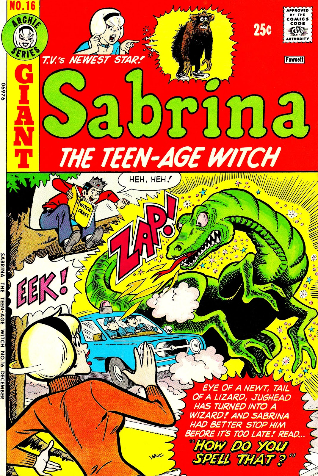 Sabrina The Teenage Witch (1971) Issue #16 #16 - English 1