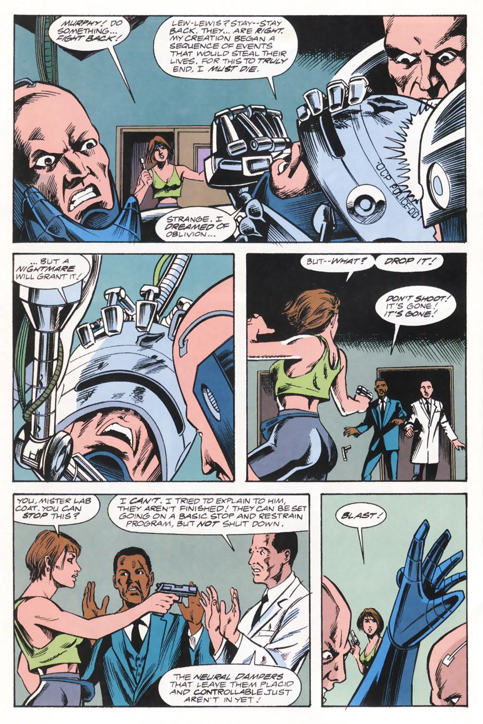 Read online Robocop (1990) comic -  Issue #15 - 16