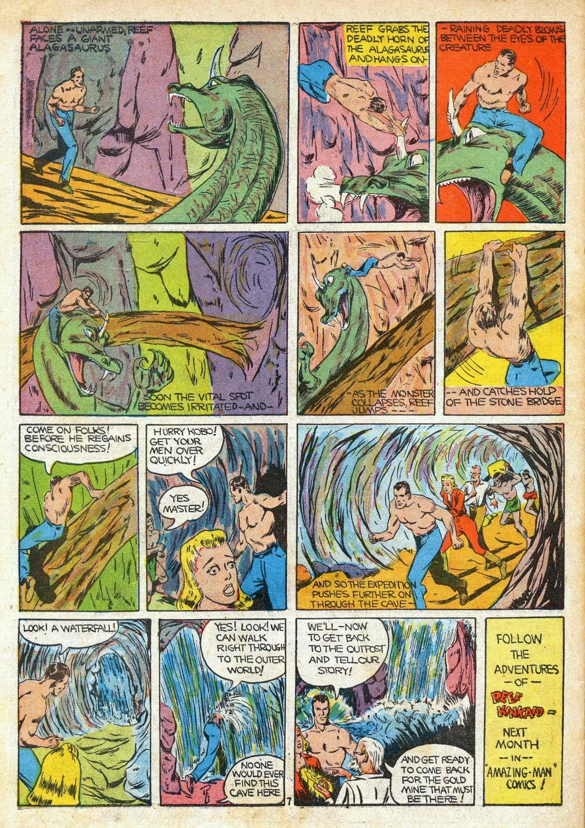 Read online Amazing Man Comics comic -  Issue #16 - 58
