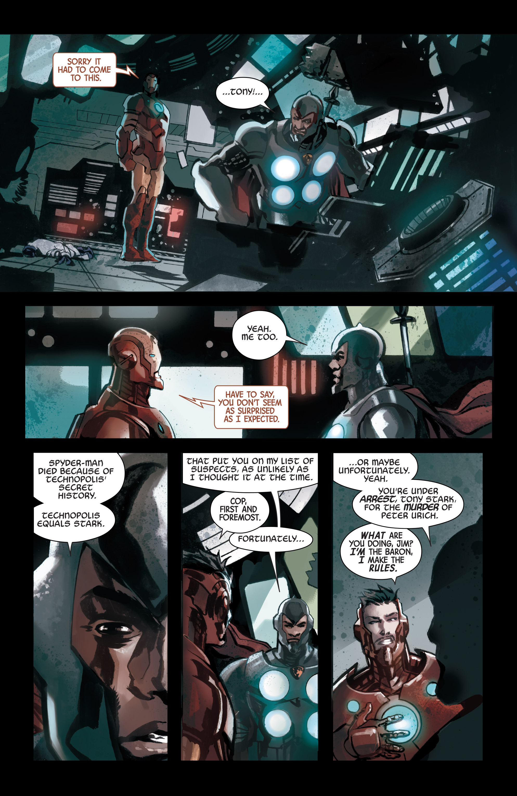 Read online Armor Wars comic -  Issue #4 - 11