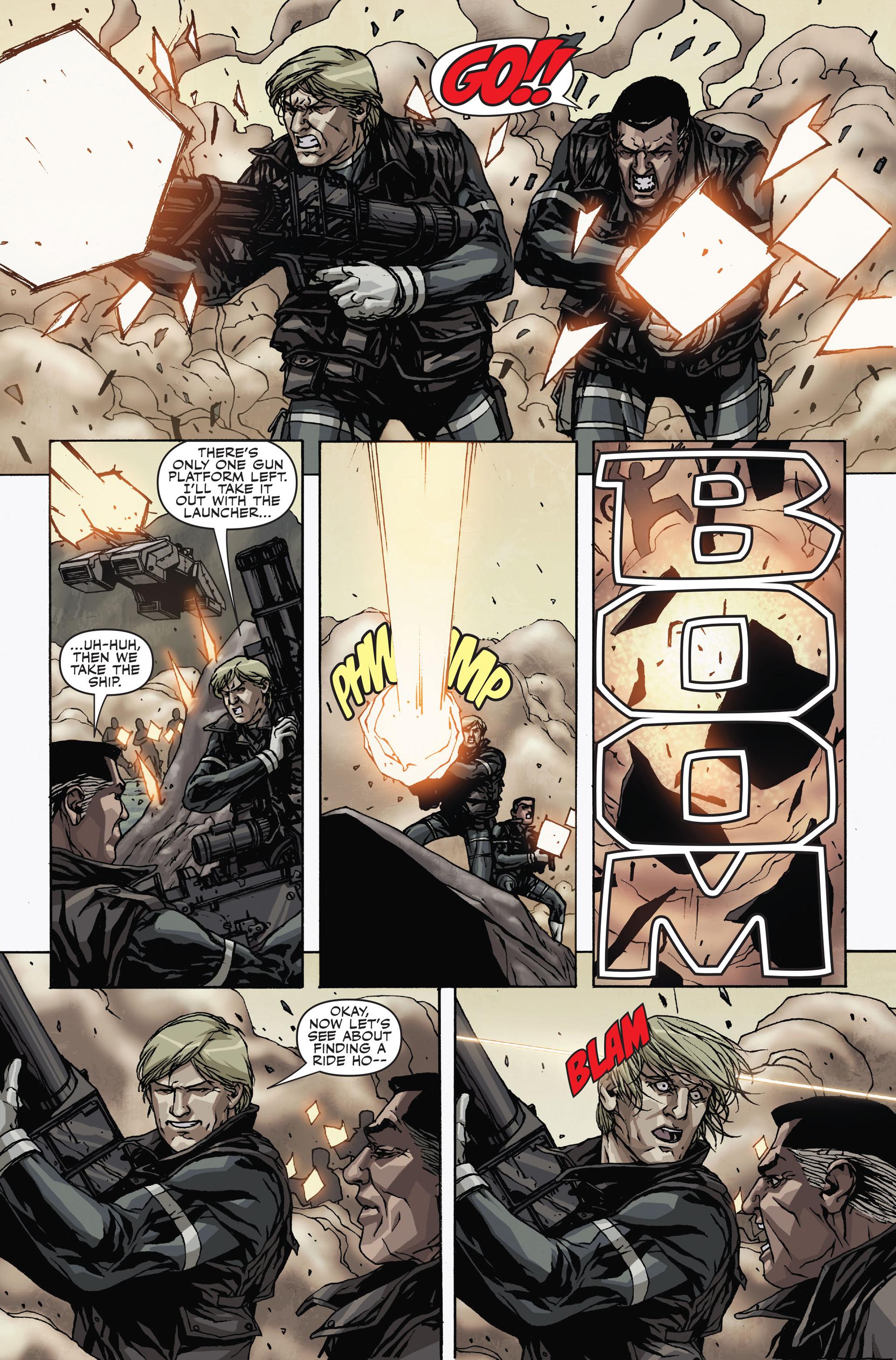 Read online Secret Warriors comic -  Issue #19 - 12