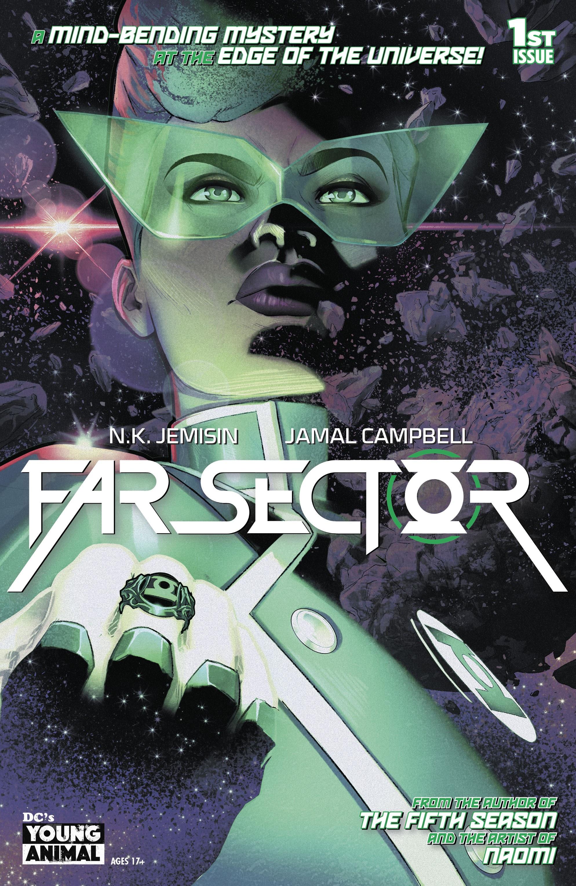 【DC宇宙相關】一個綠光戰警跑到宇宙最遠處值勤的孤單故事《Far Sector》推薦!