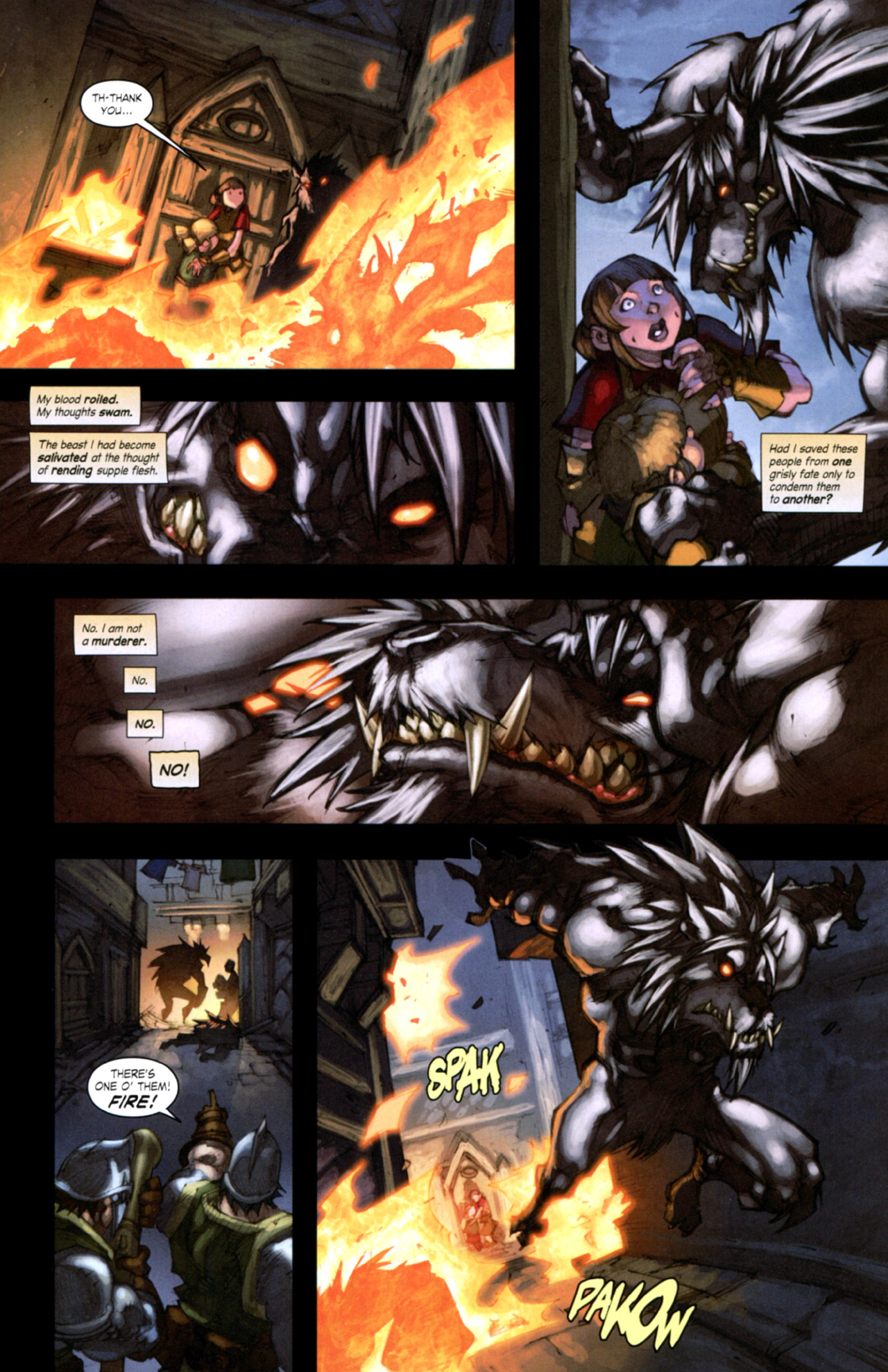 Read online World of Warcraft: Curse of the Worgen comic -  Issue #4 - 11