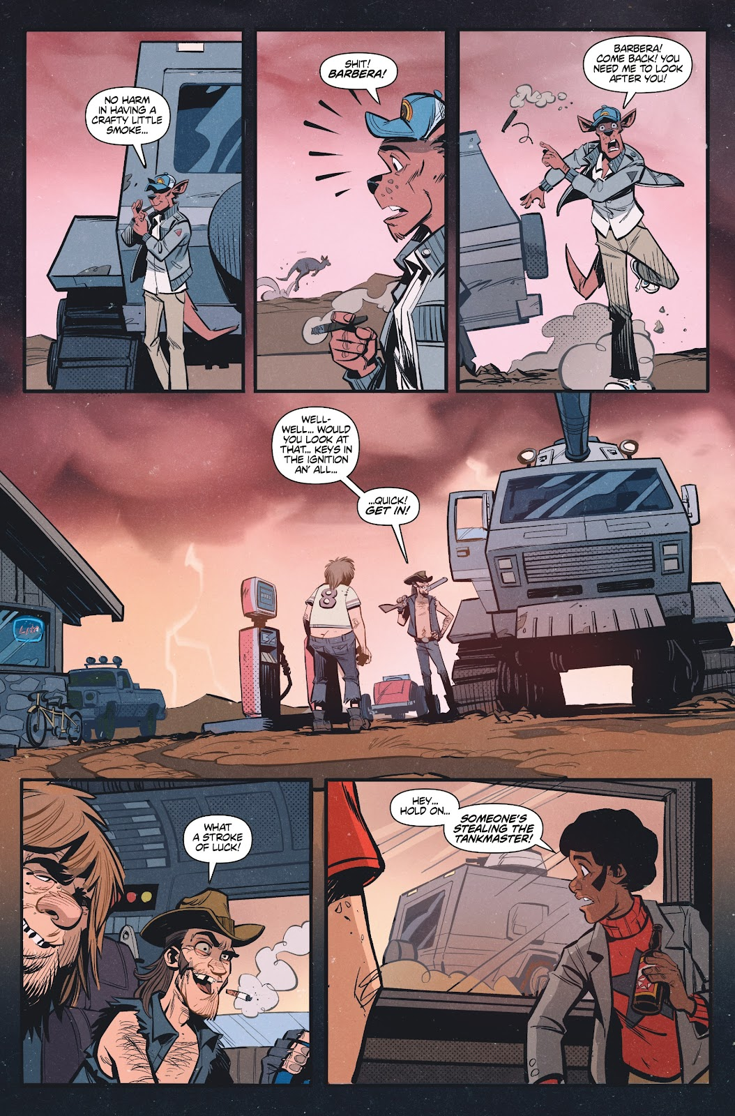 Read online Tank Girl Ongoing comic -  Issue #1 - 22