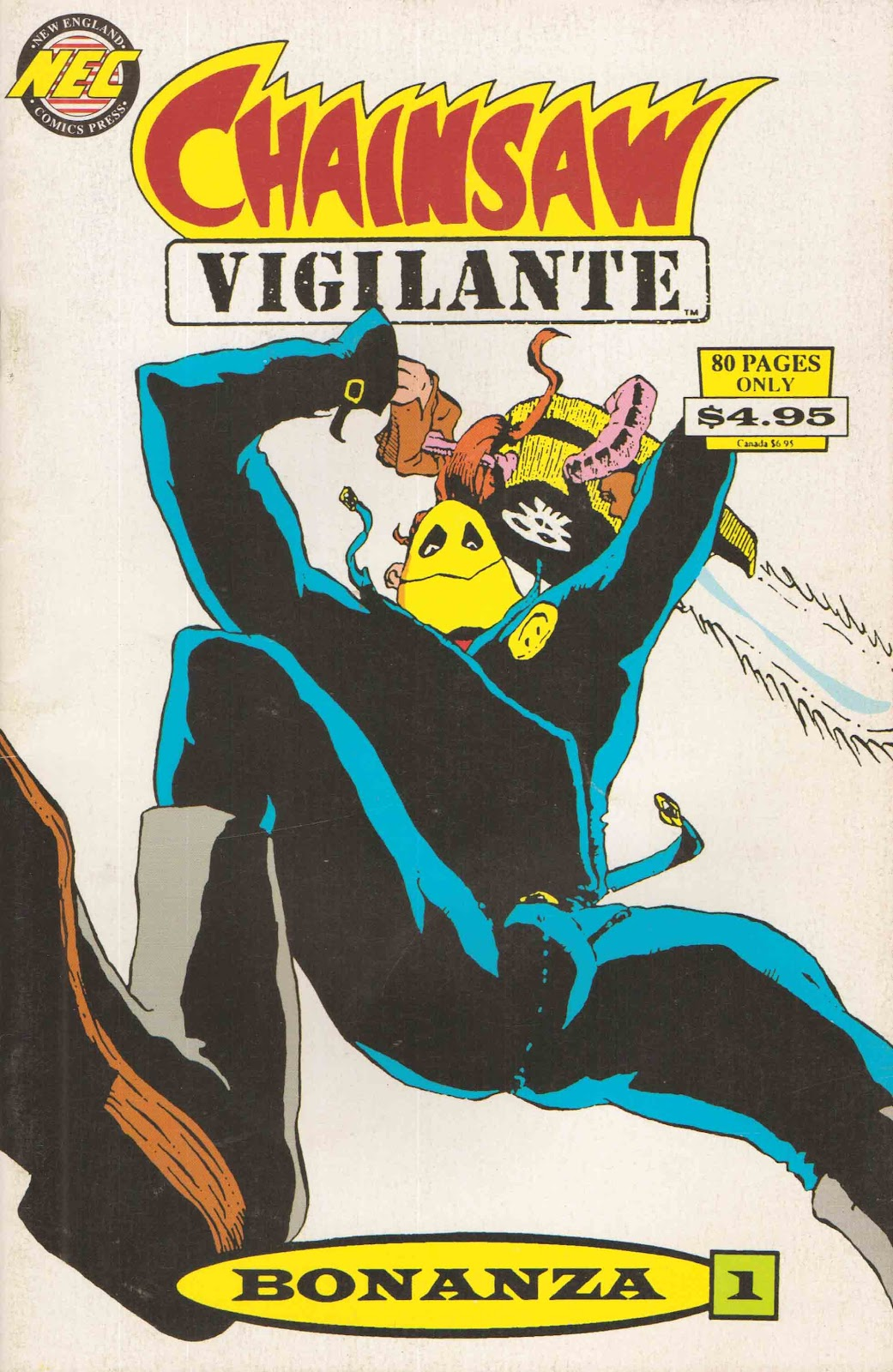 Read online Chainsaw Vigilante comic -  Issue # TPB - 1