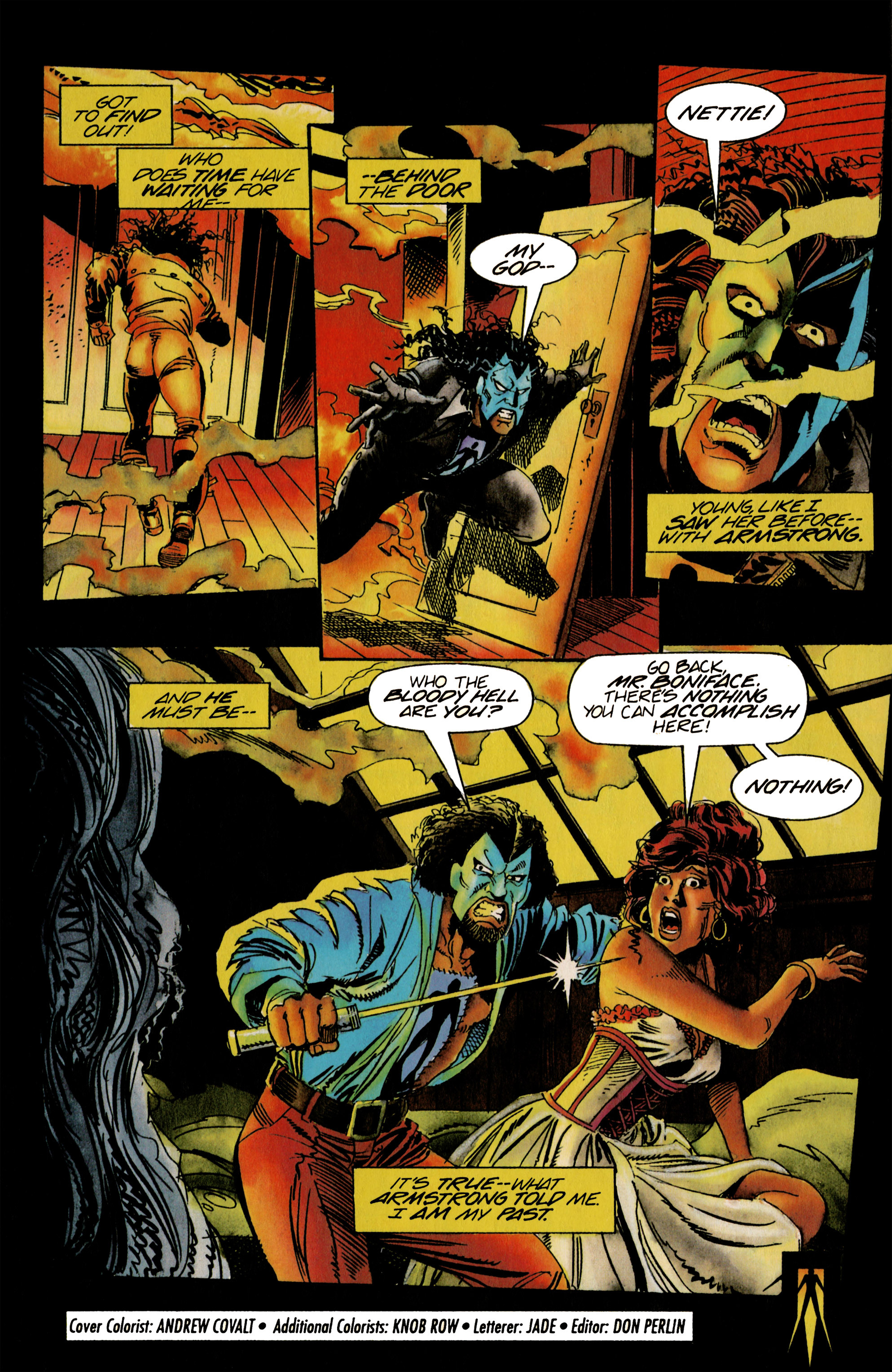 Read online Shadowman (1992) comic -  Issue #21 - 22