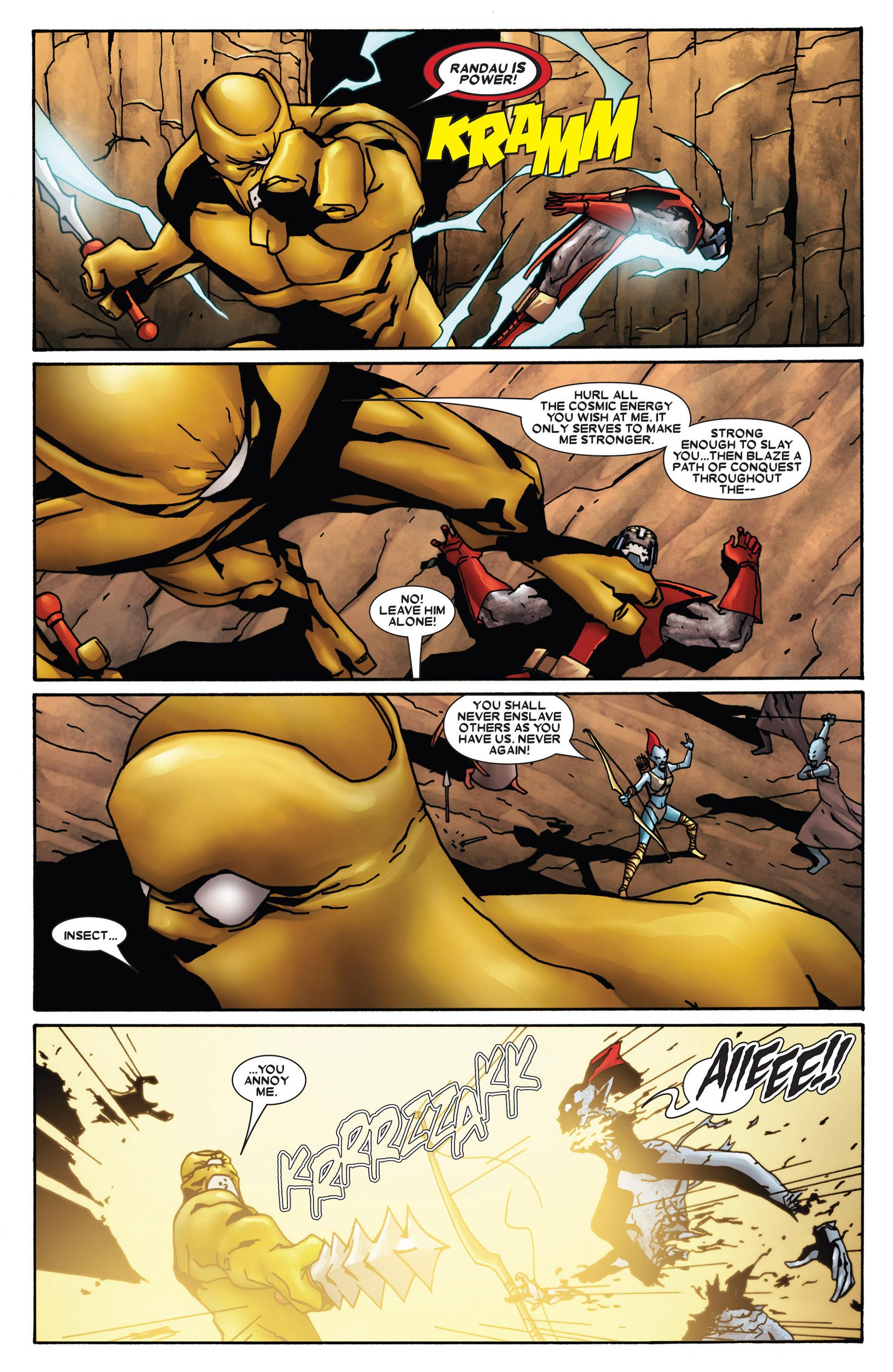 Read online Annihilation: Heralds Of Galactus comic -  Issue #1 - 19