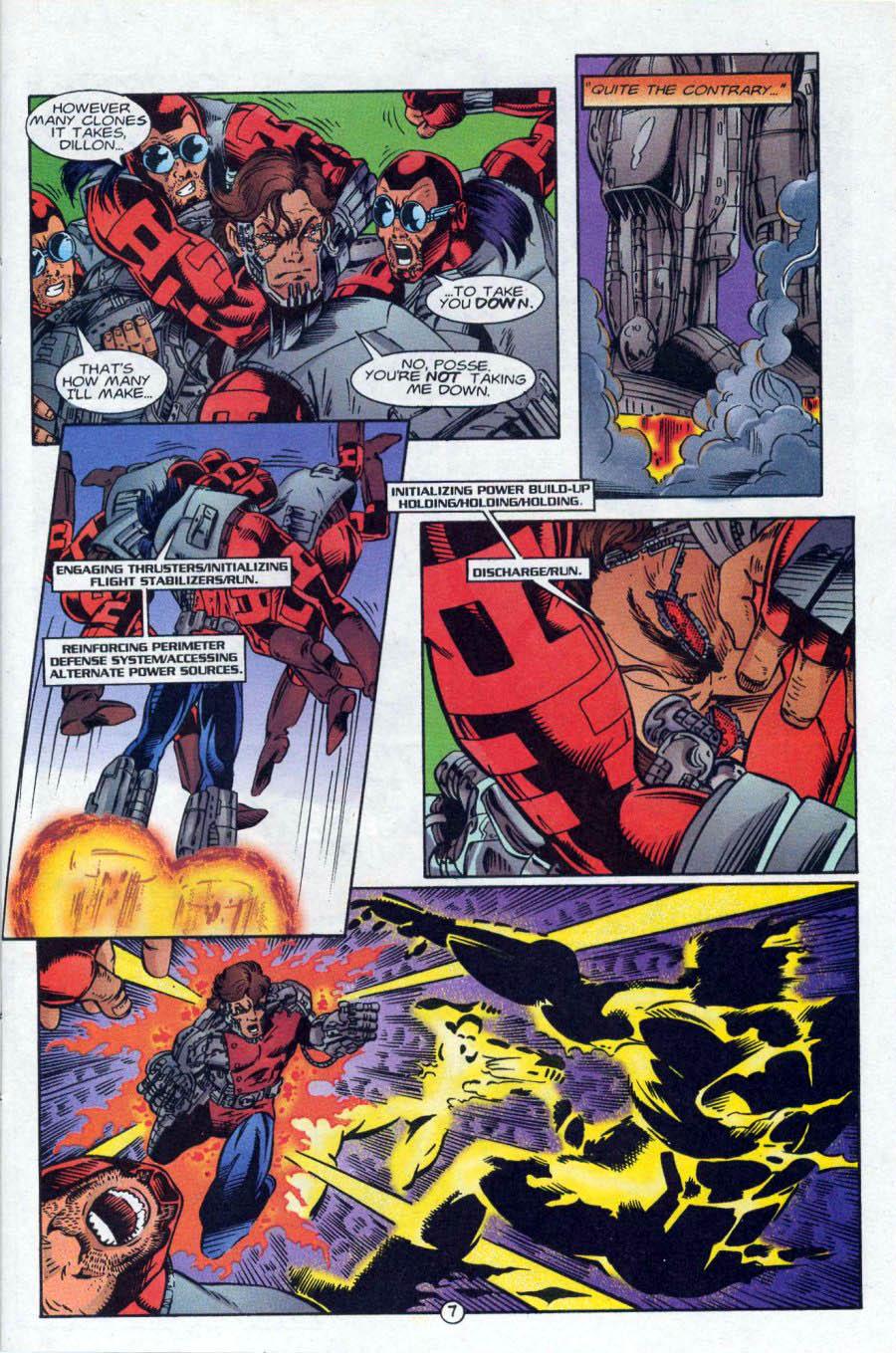 Read online Ex-Mutants comic -  Issue #18 - 8