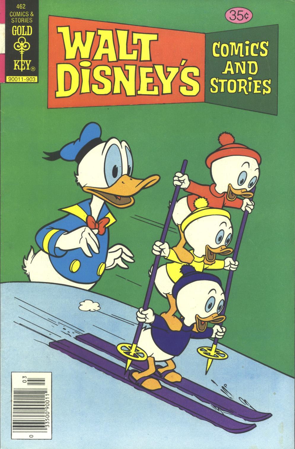 Walt Disneys Comics and Stories 462 Page 1
