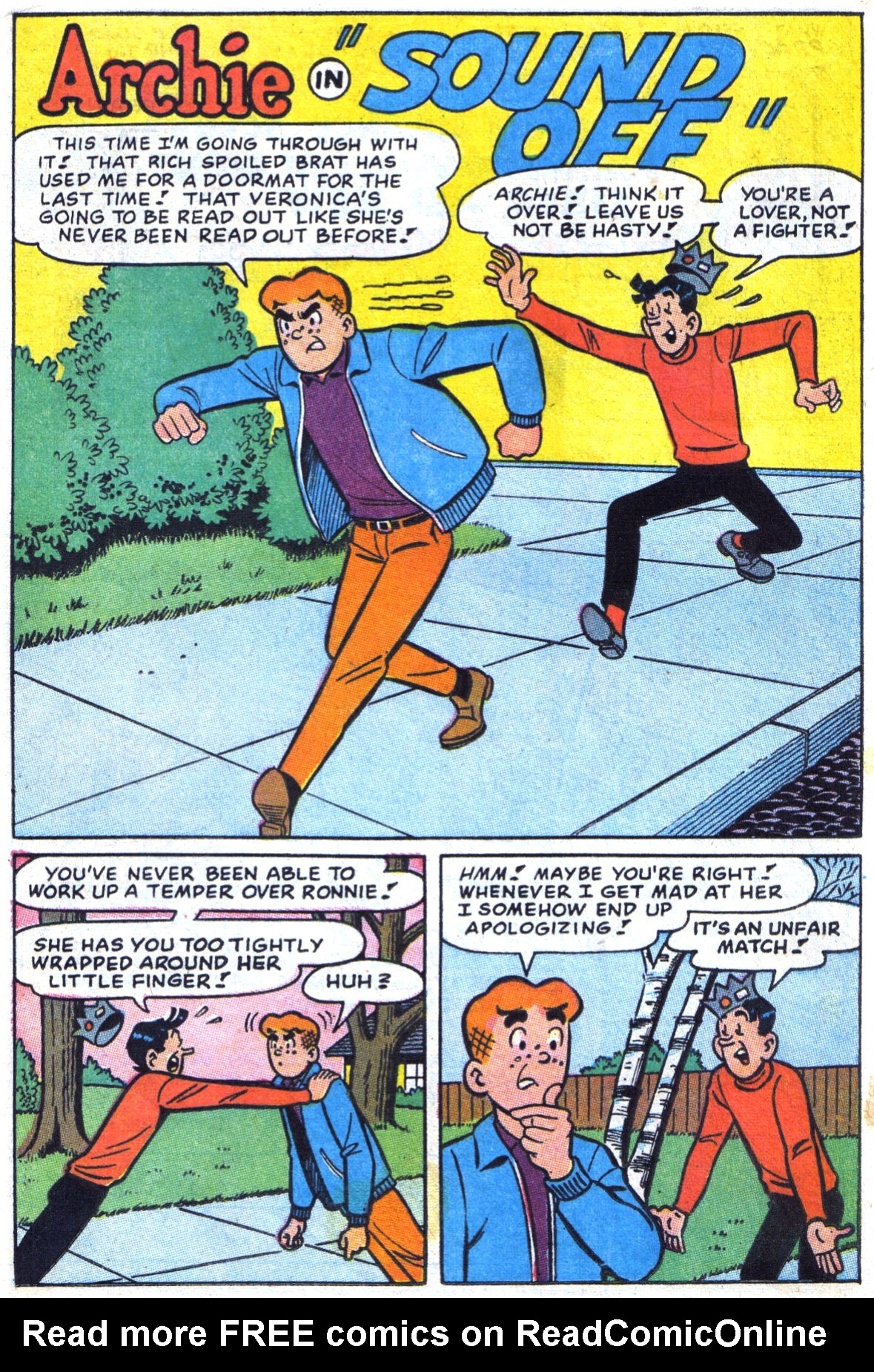 Read online Archie (1960) comic -  Issue #172 - 20