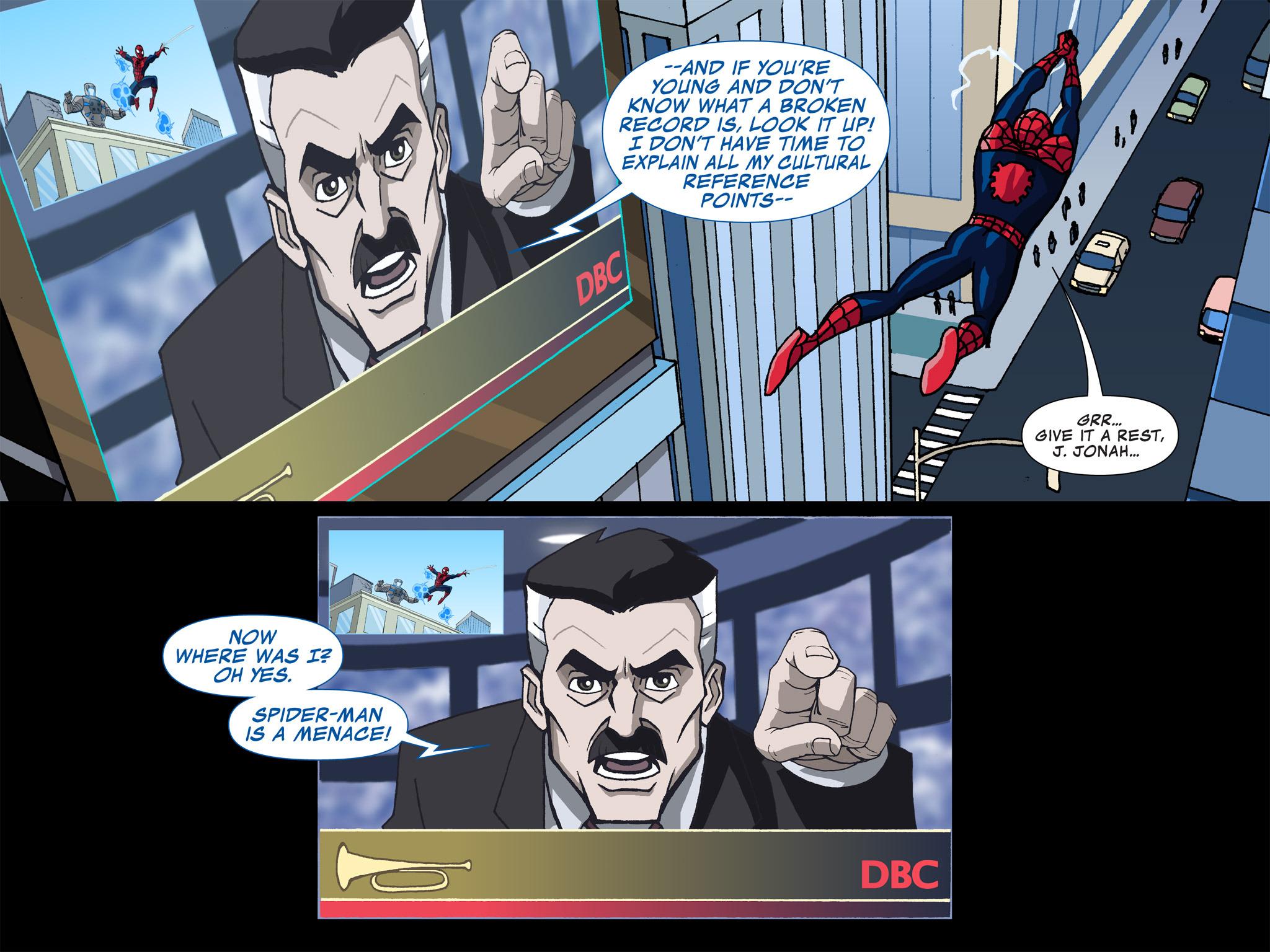Read online Ultimate Spider-Man (Infinite Comics) (2015) comic -  Issue #3 - 23