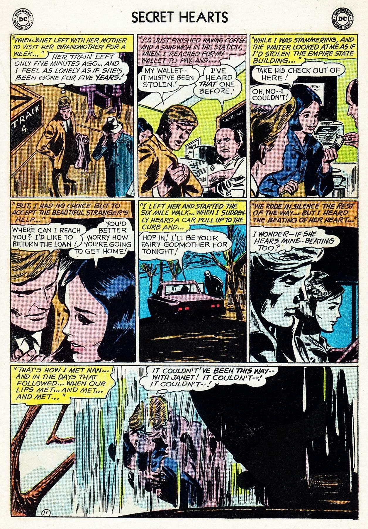 Read online Secret Hearts comic -  Issue #105 - 31