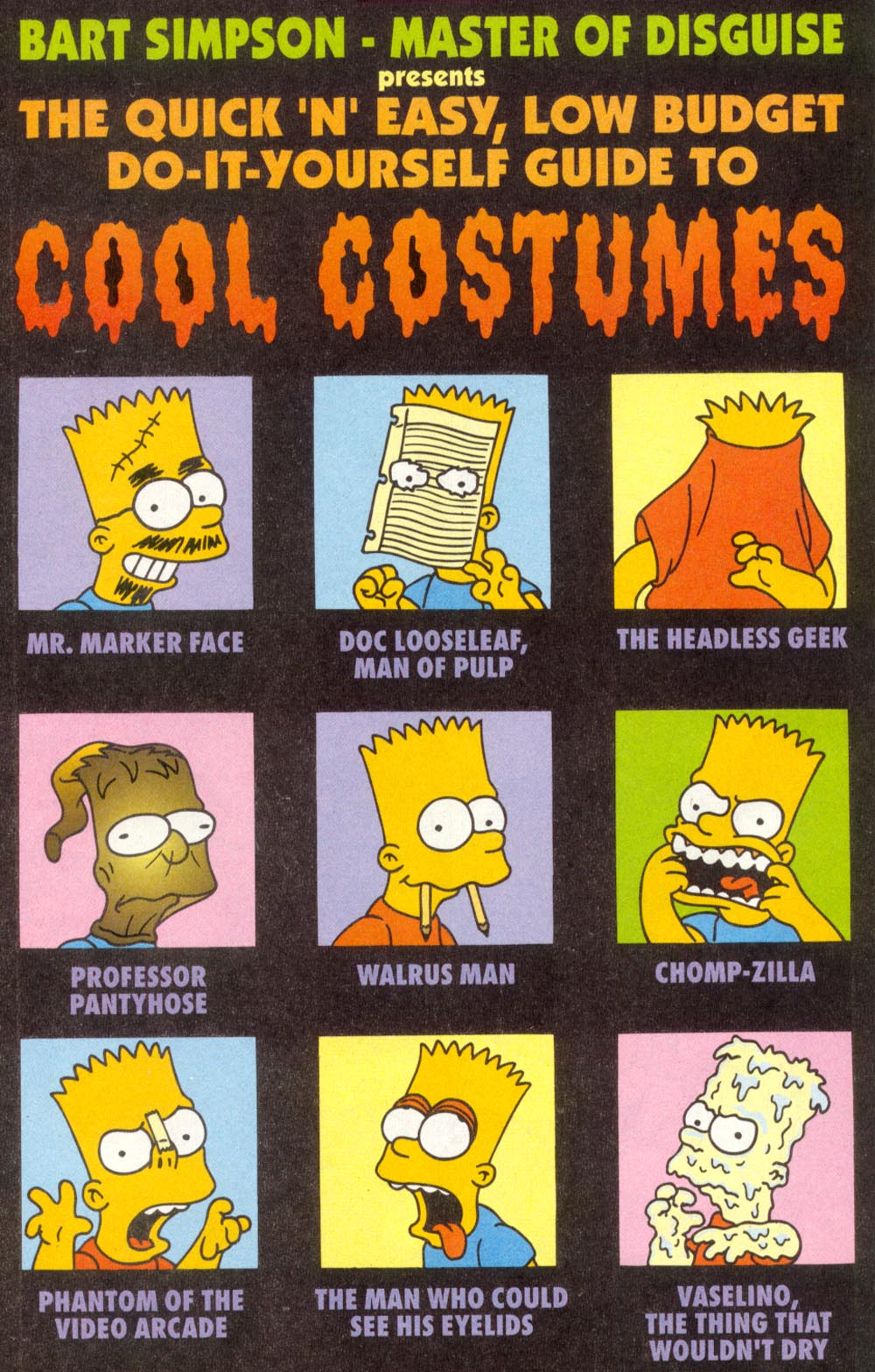 Read online Treehouse of Horror comic -  Issue #1 - 18