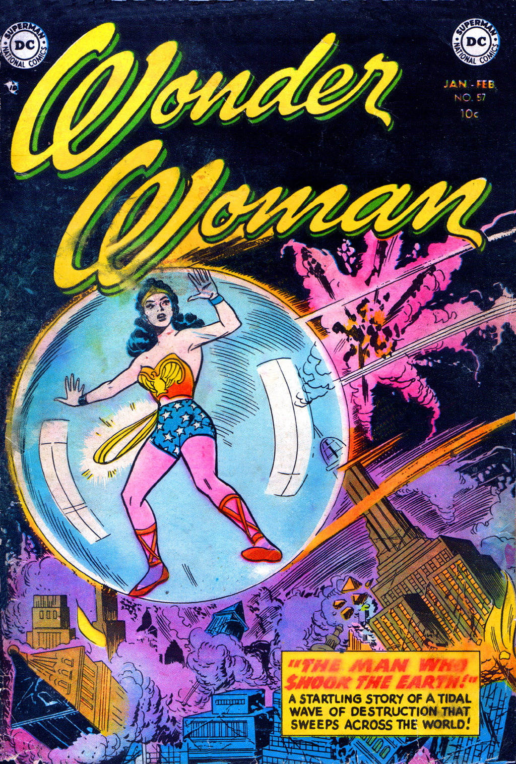 Read online Wonder Woman (1942) comic -  Issue #57 - 1