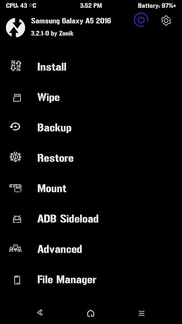 com kali ini kita akan melanjutkan tutorial kemarin yang sudah saya buat tentang  Cara Root Dan Install TWRP Samsung A5 2016 SM-A510F Nougat