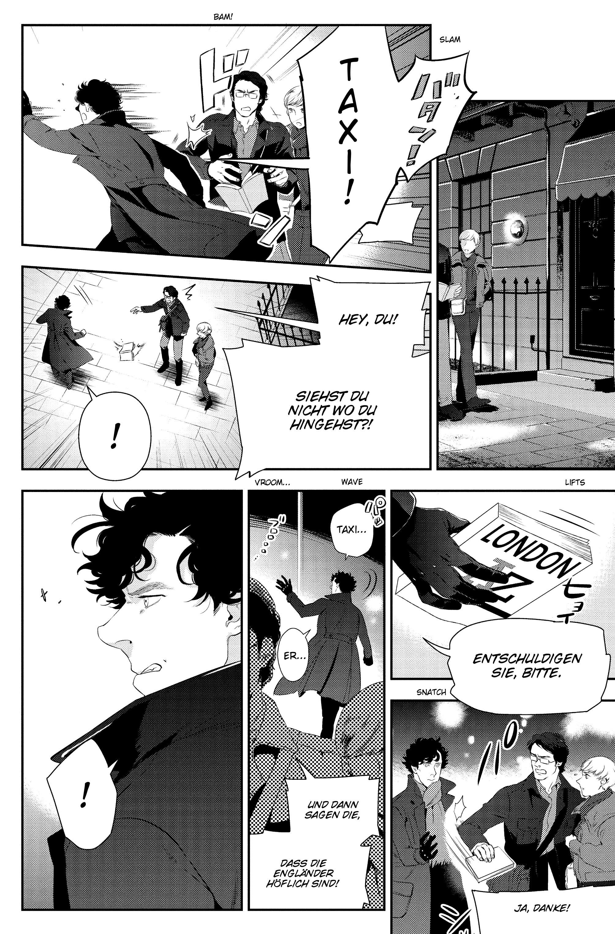 Read online Sherlock: The Blind Banker comic -  Issue #5 - 33