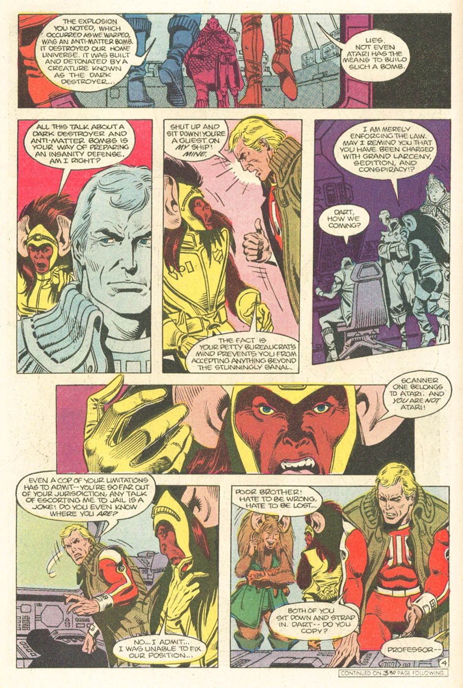 Read online Atari Force (1984) comic -  Issue #15 - 6