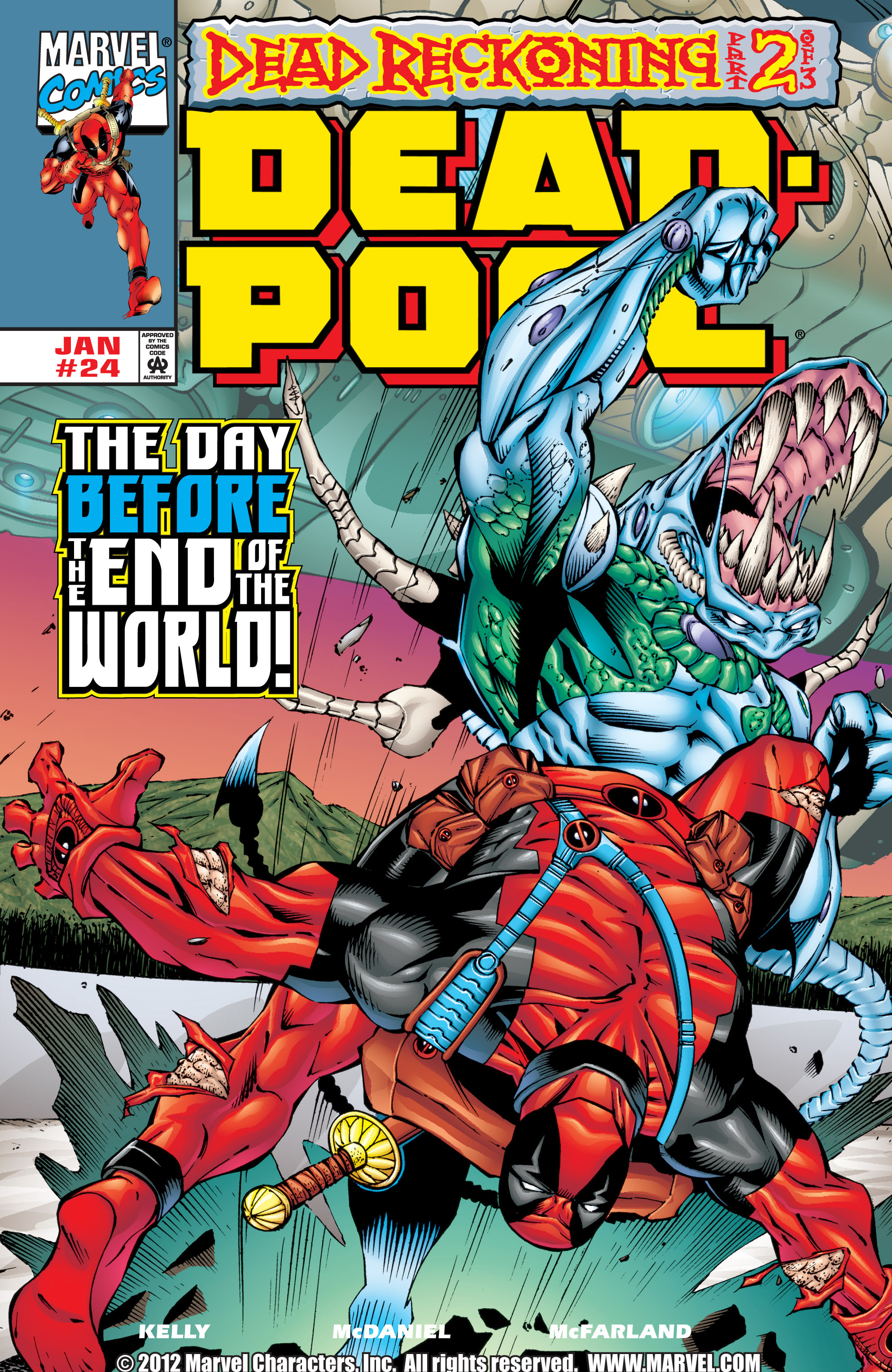 Deadpool (1997) 24 Page 1