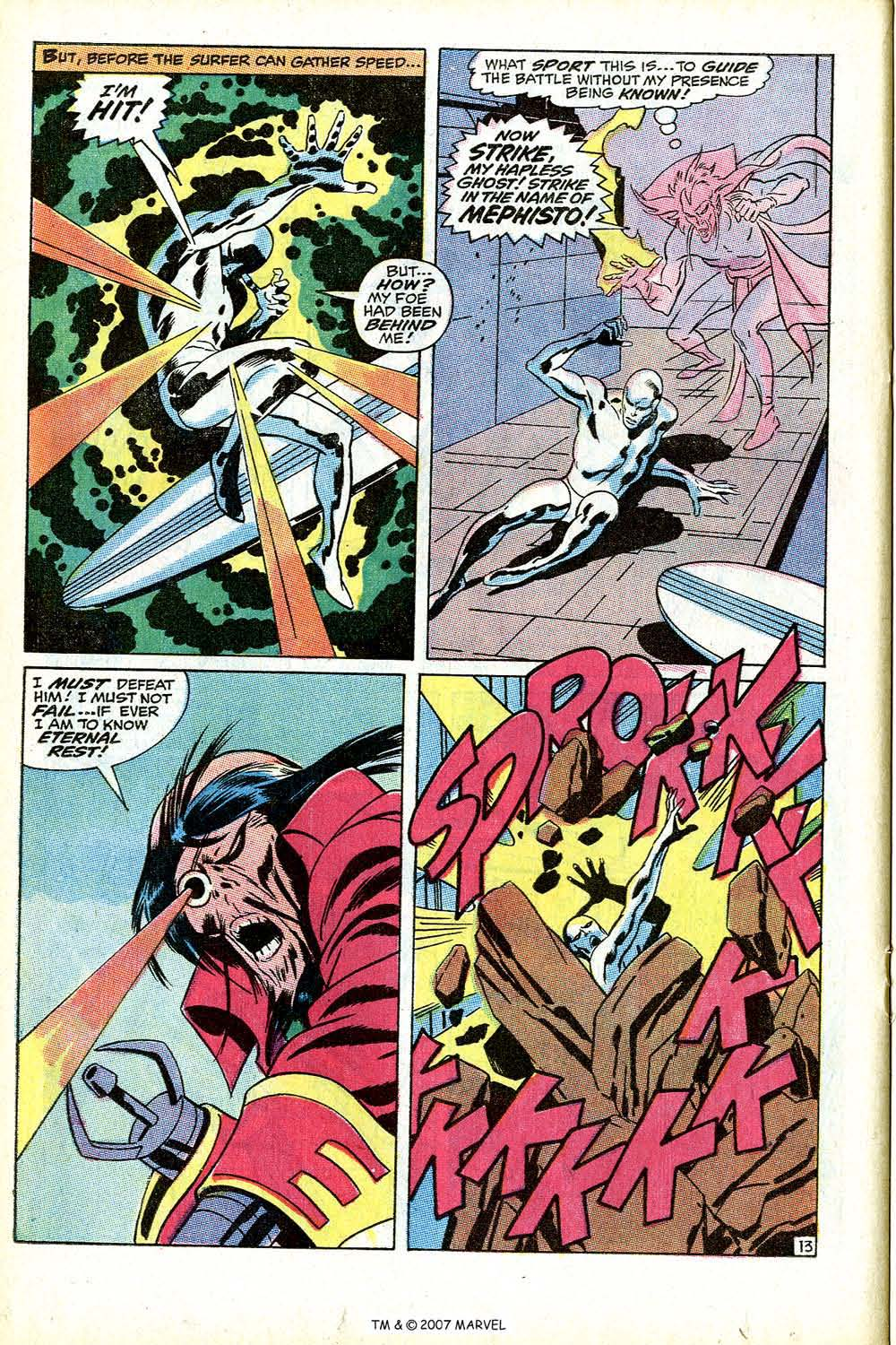 Silver Surfer (1968) Issue #9 #9 - English 22