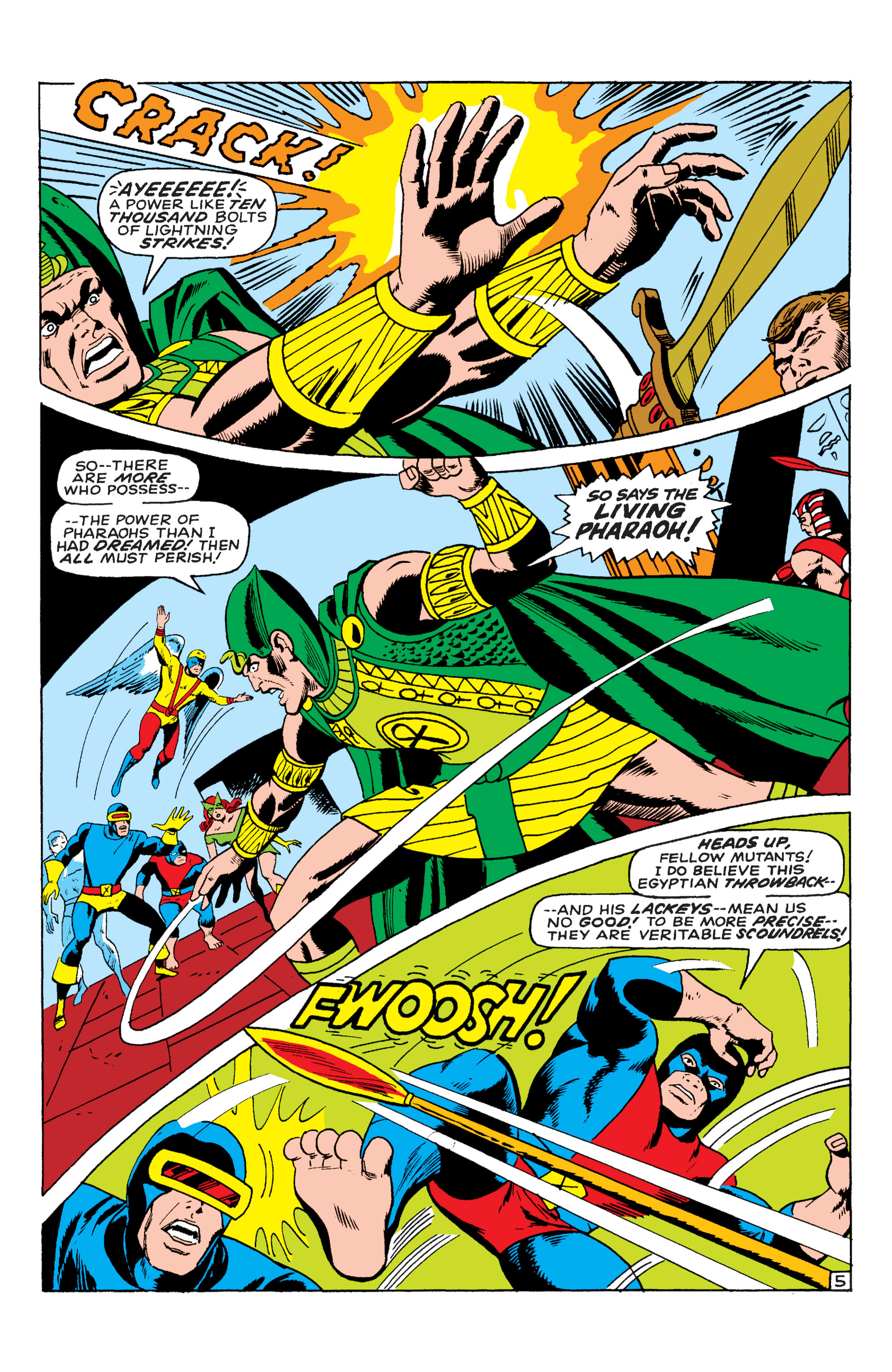 Read online Uncanny X-Men (1963) comic -  Issue #54 - 6