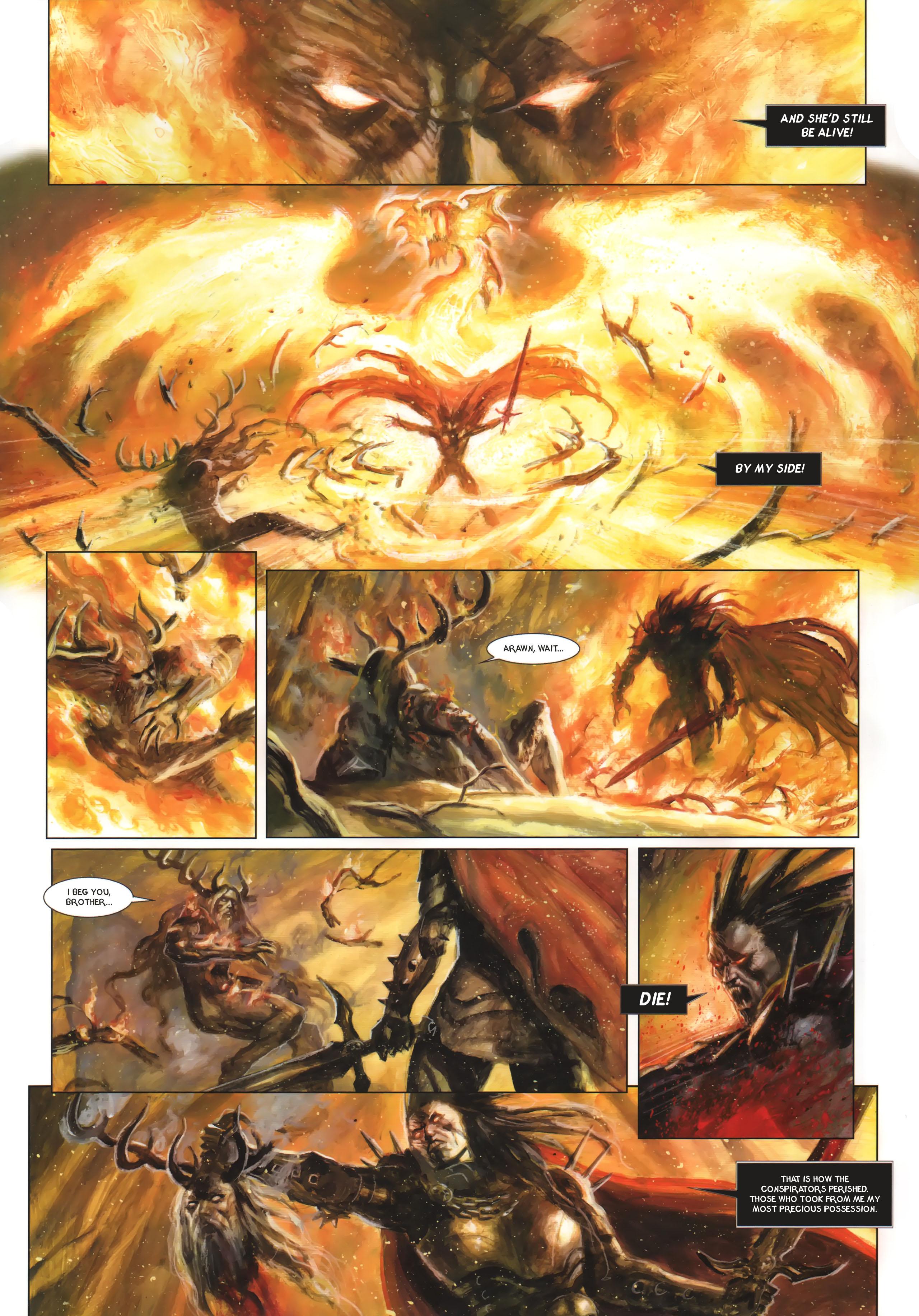 Read online Arawn comic -  Issue #6 - 52
