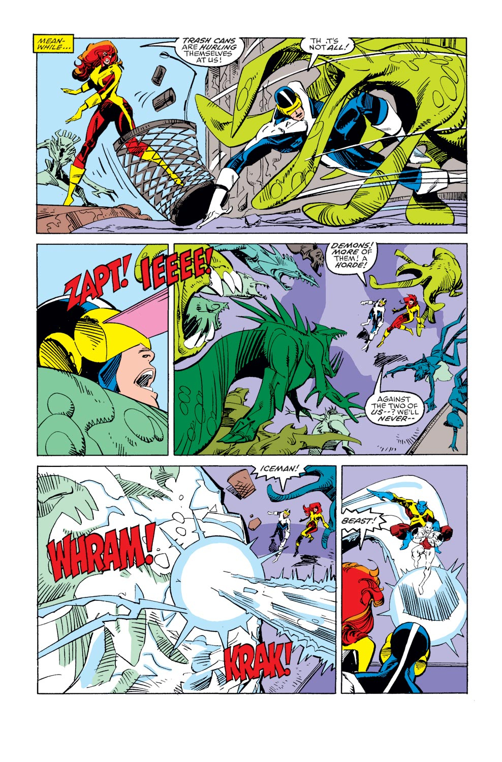 Read online X-Factor (1986) comic -  Issue #36 - 21