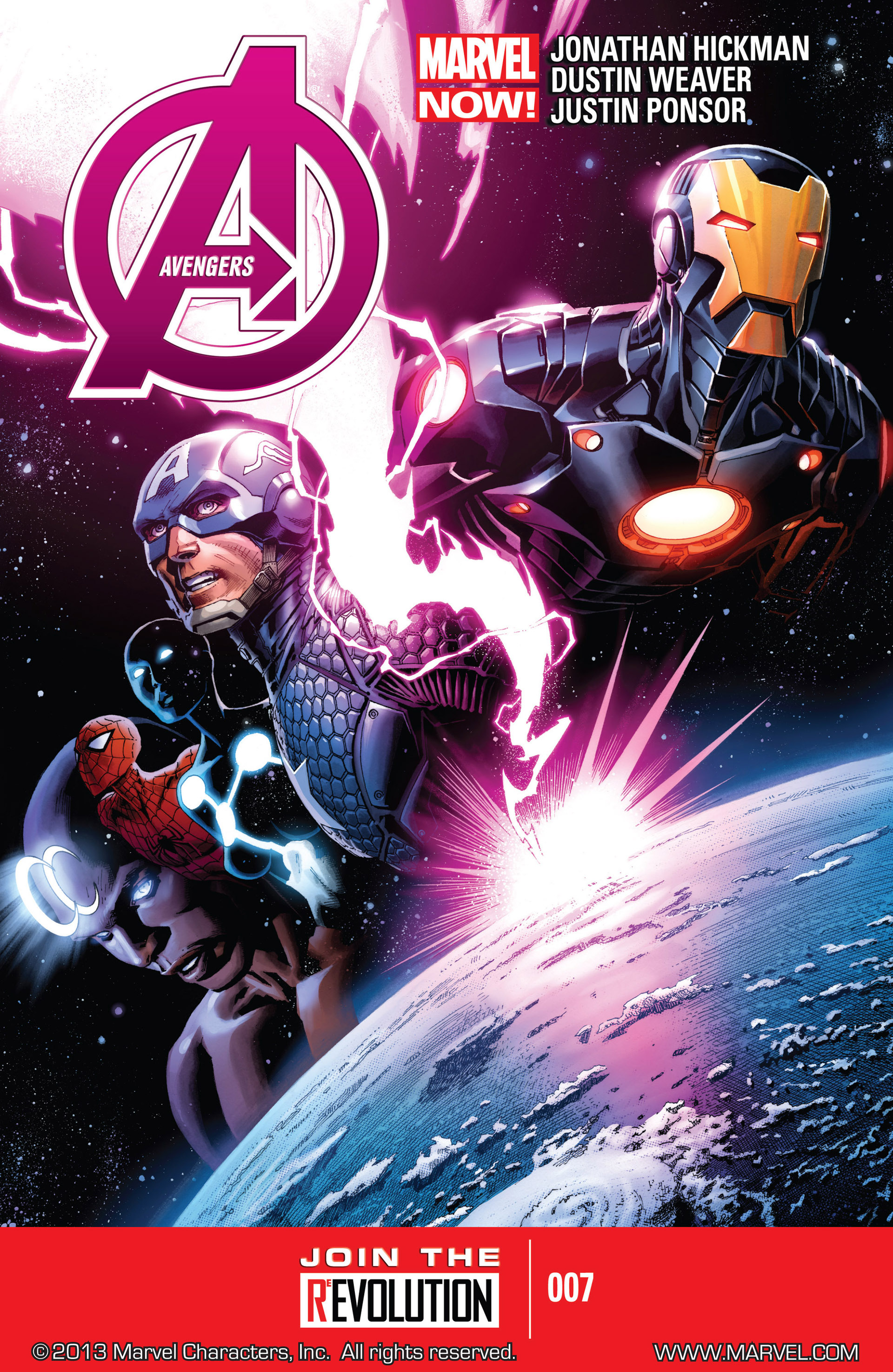 Read online Avengers (2013) comic -  Issue #7 - 1