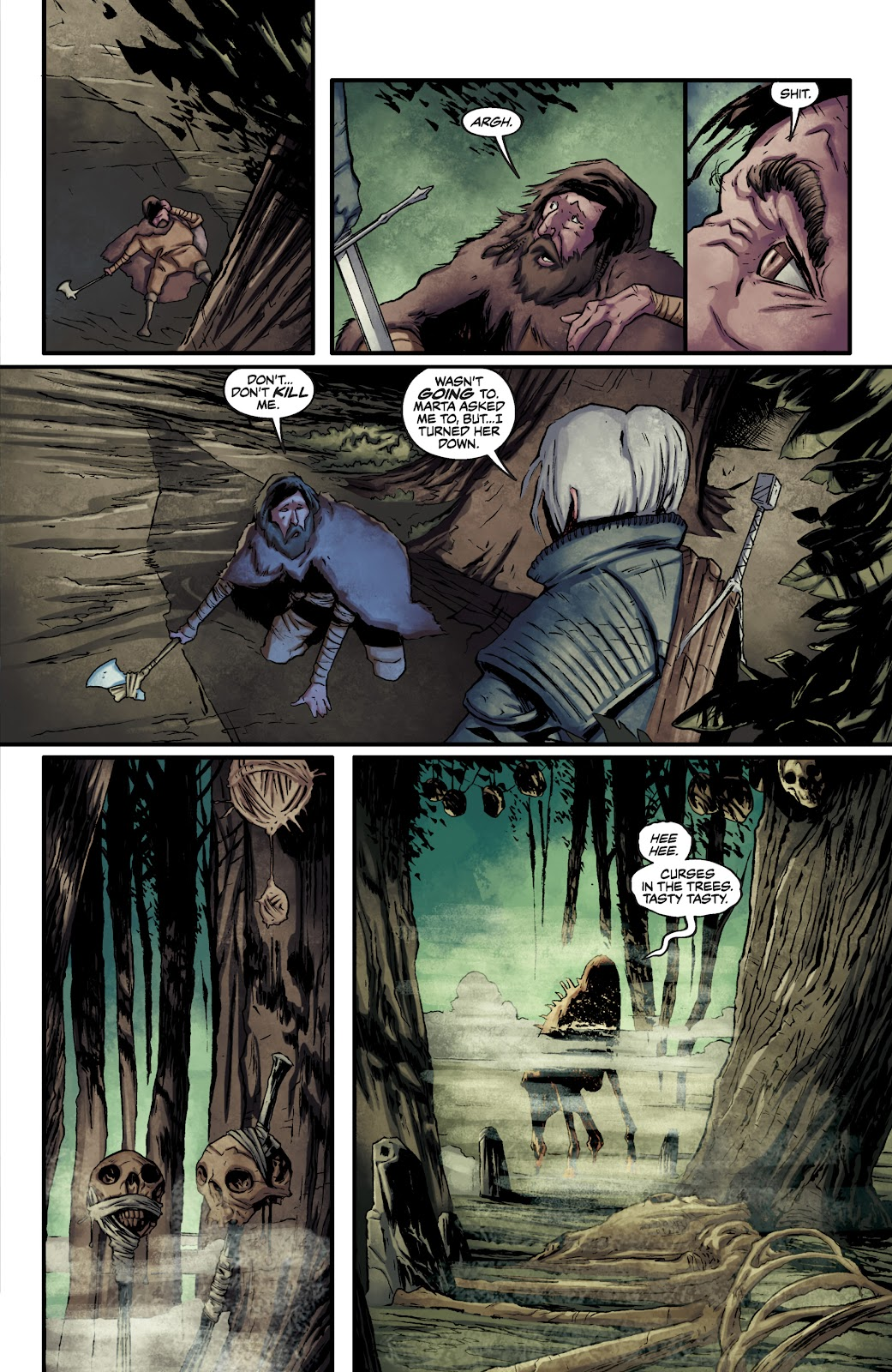 Read online The Witcher Omnibus comic -  Issue # TPB (Part 2) - 22