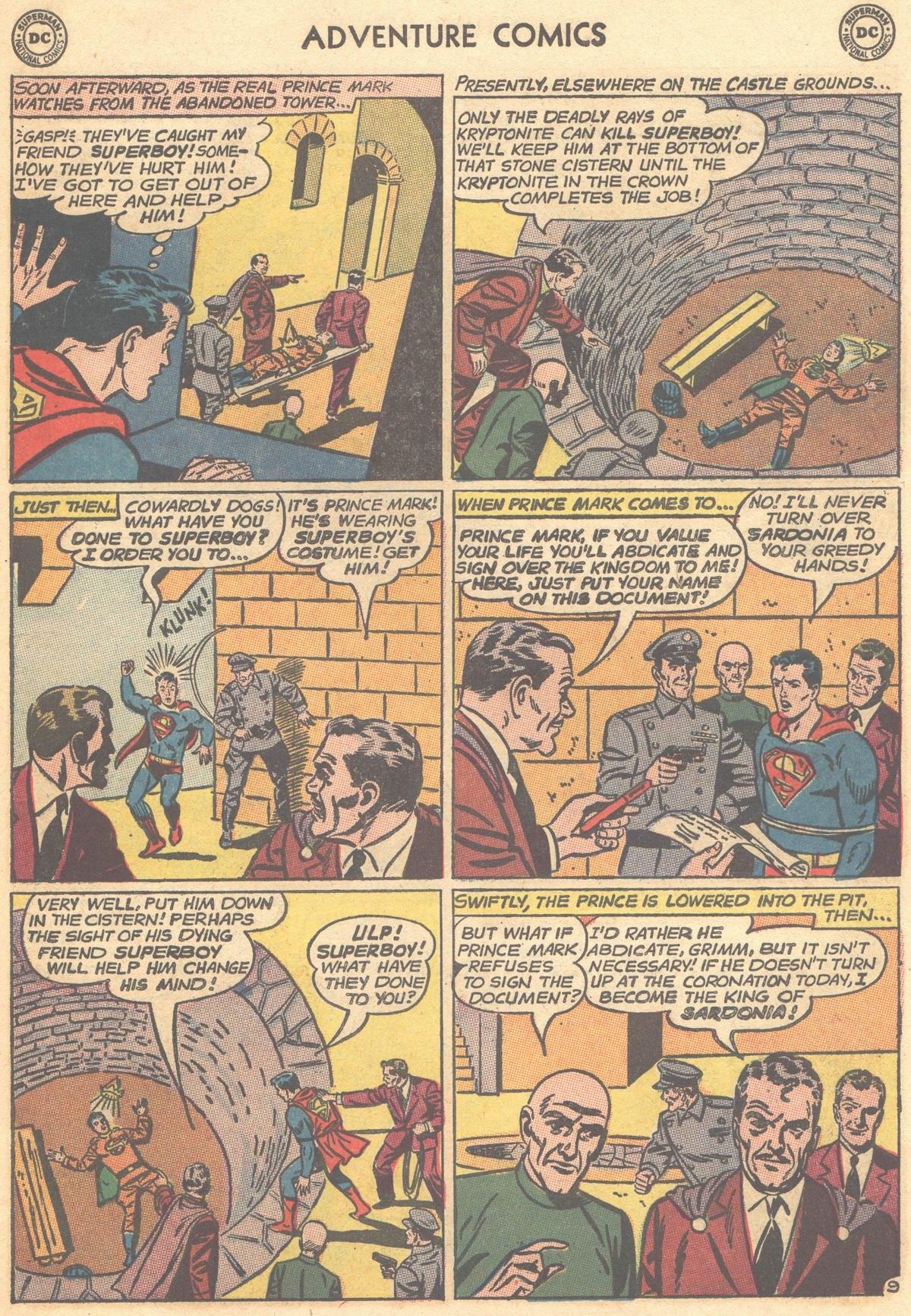 Read online Adventure Comics (1938) comic -  Issue #303 - 11