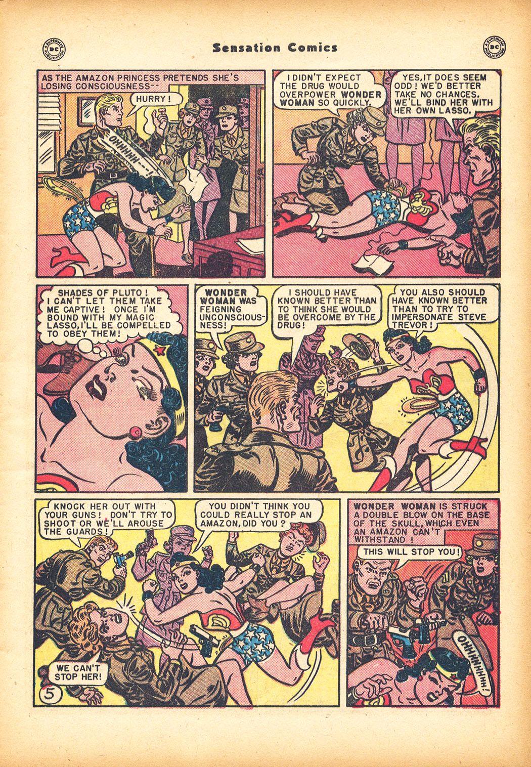 Read online Sensation (Mystery) Comics comic -  Issue #78 - 7