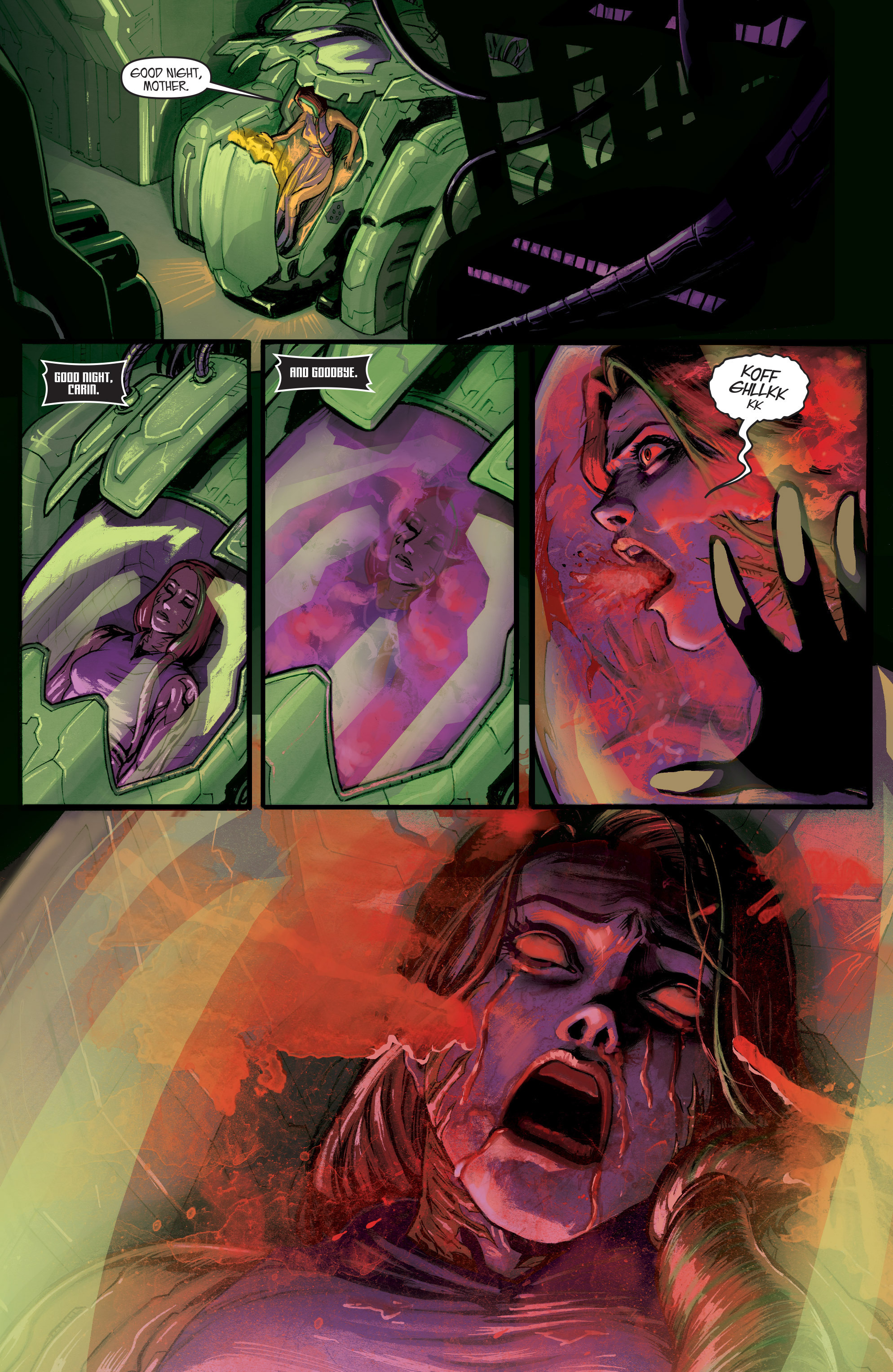 Read online IXth Generation Hidden Files comic -  Issue #1 - 8