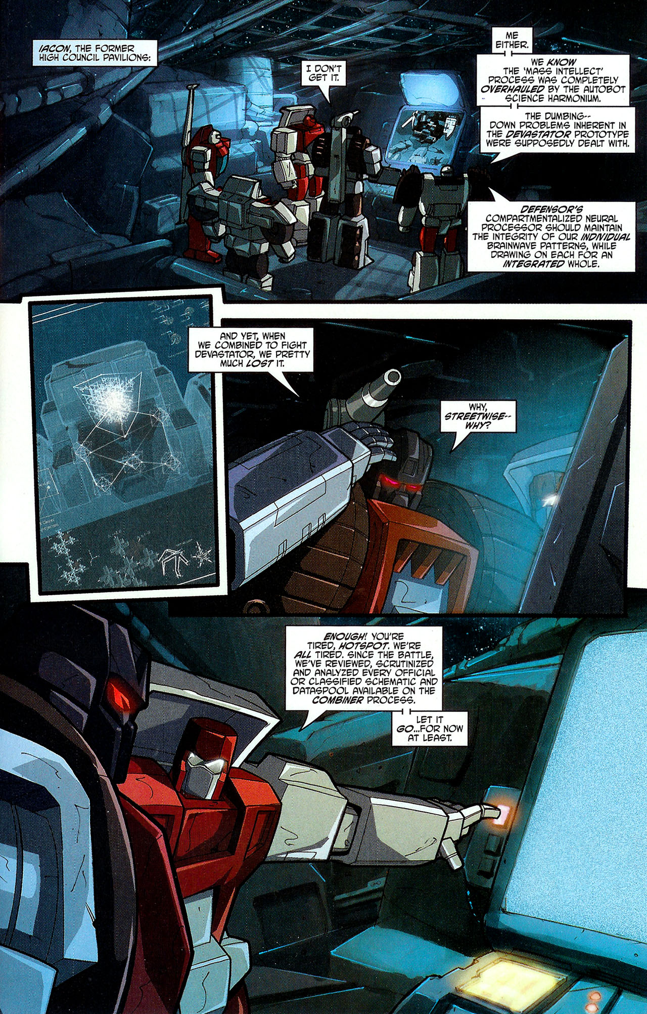 """Read online Transformers War Within: """"The Dark Ages"""" comic -  Issue #5 - 11"""