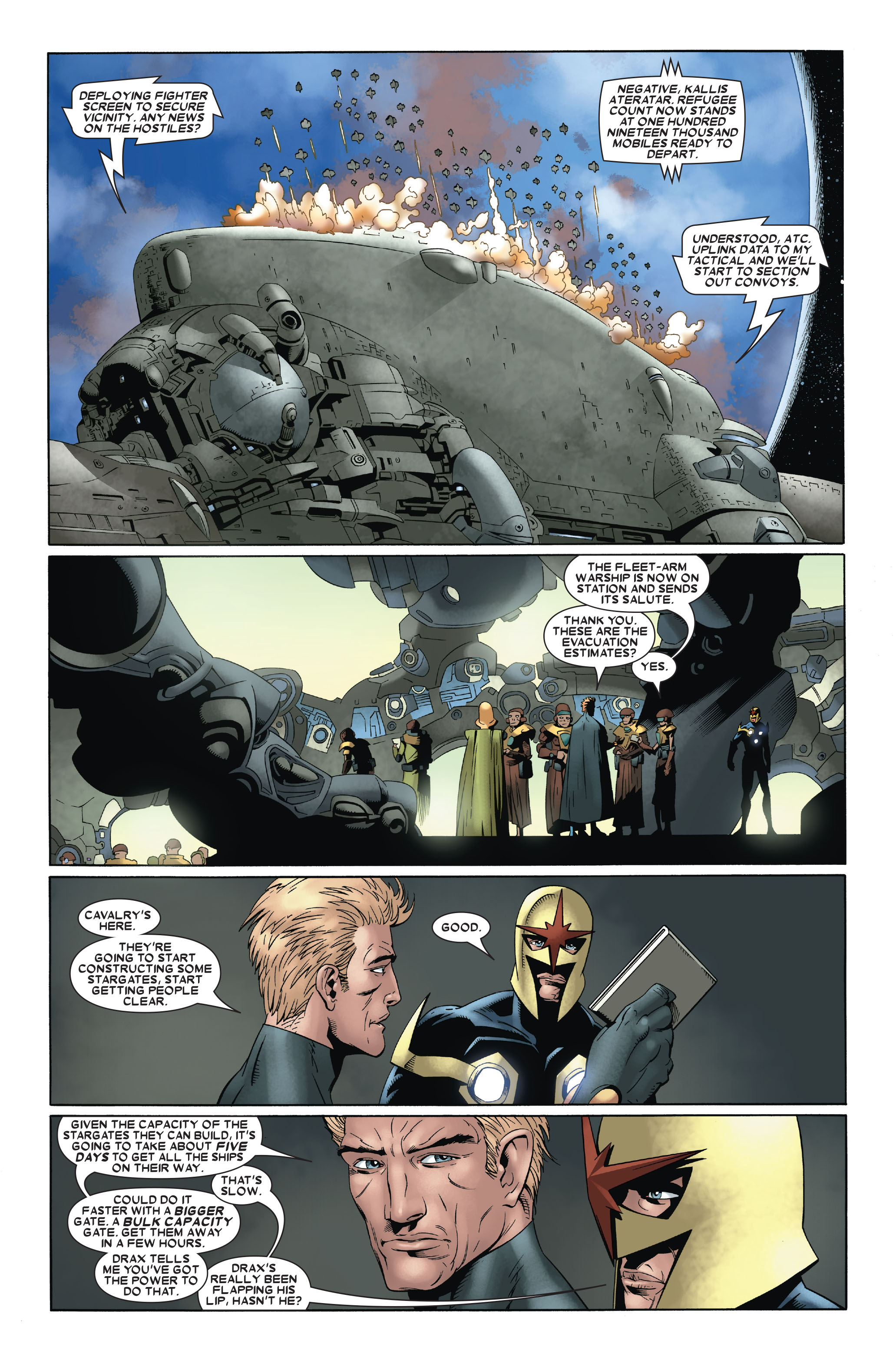Read online Annihilation: Nova comic -  Issue #3 - 10