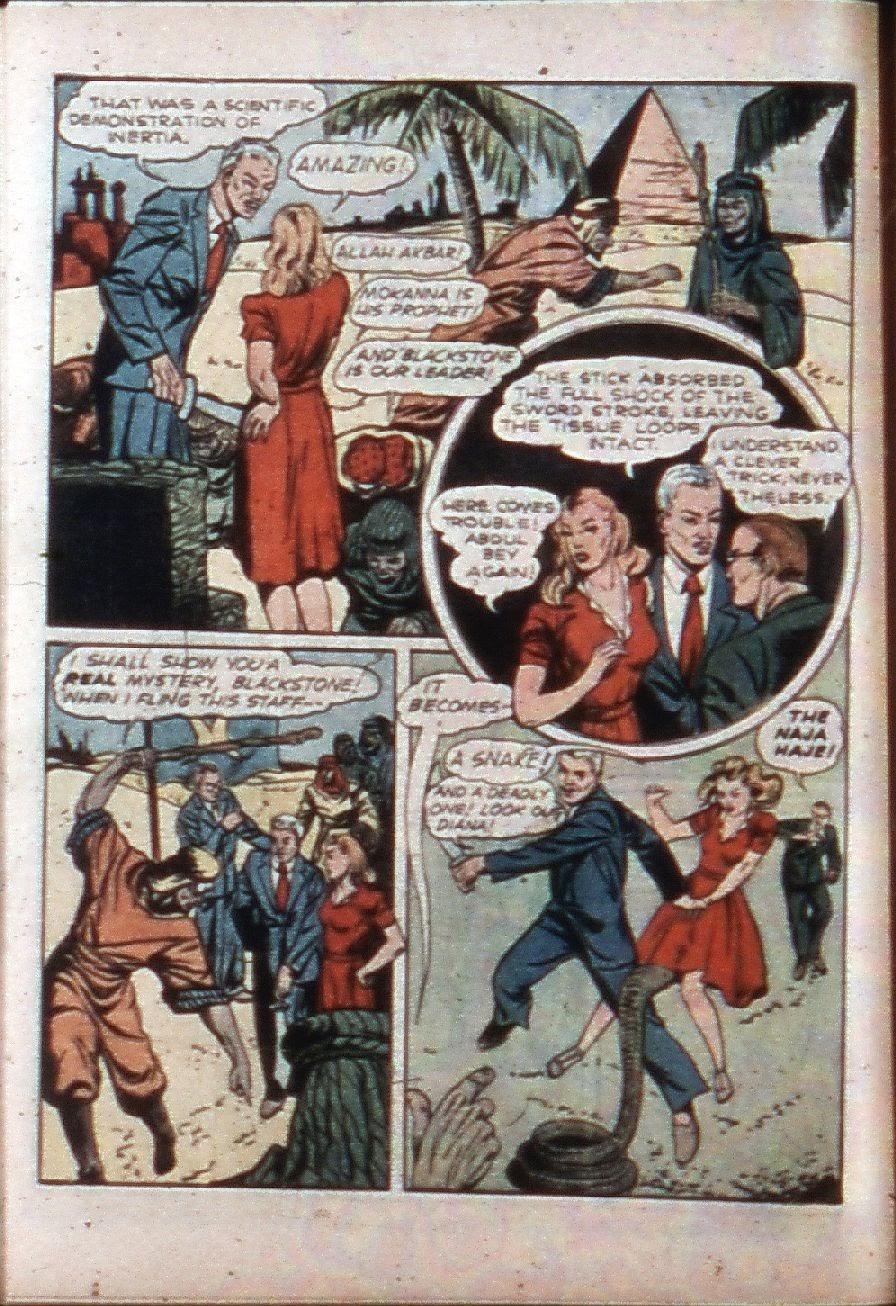 Read online Super-Magician Comics comic -  Issue #3 - 14