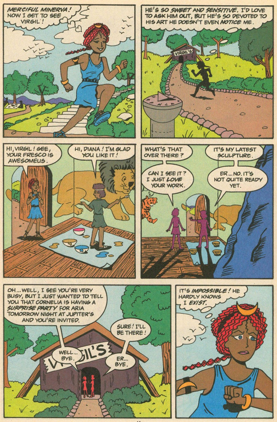 Read online Sweet XVI (Sixteen): Back To School Special comic -  Issue # Full - 33
